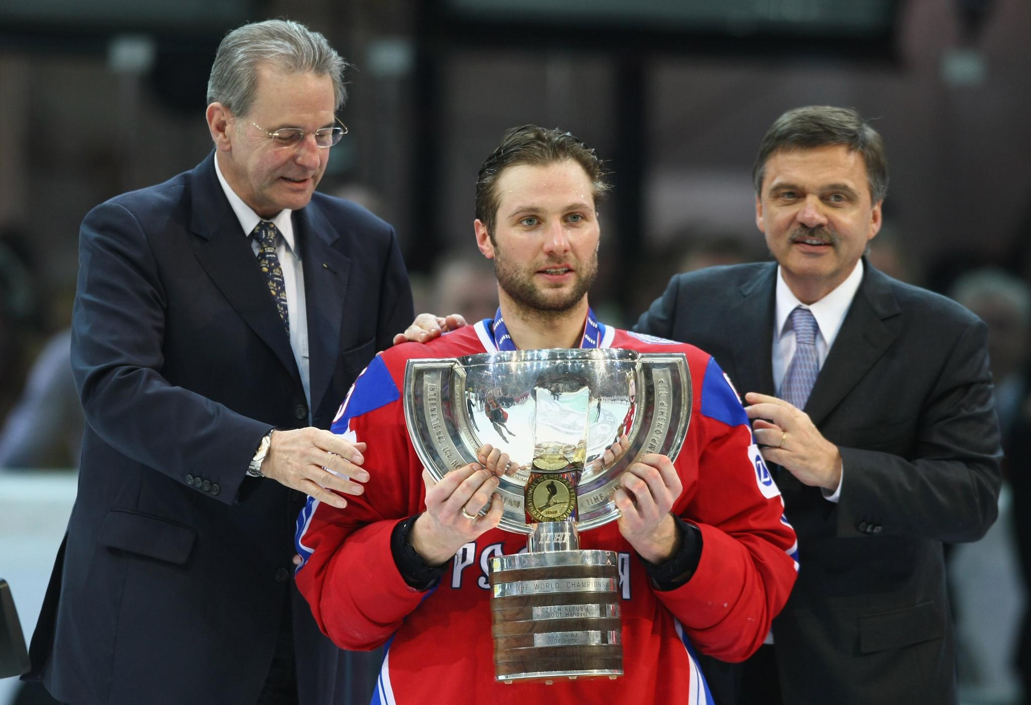Olympic medallist replaces Chernyshenko as Kontinental Hockey League President