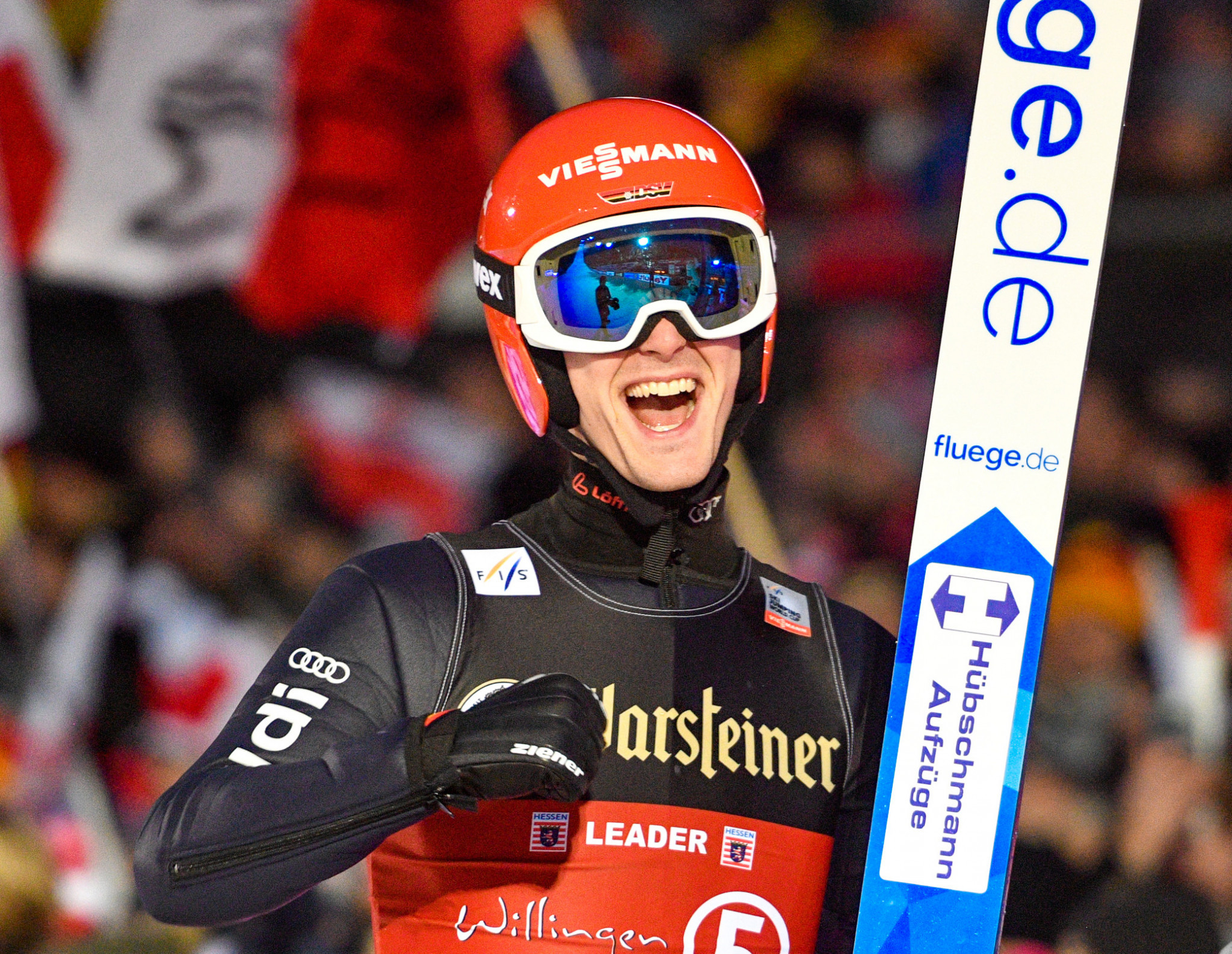 Stephan Leyhe won his first World Cup title last time out in Willingen and will look to build on that confidence ©Getty Images