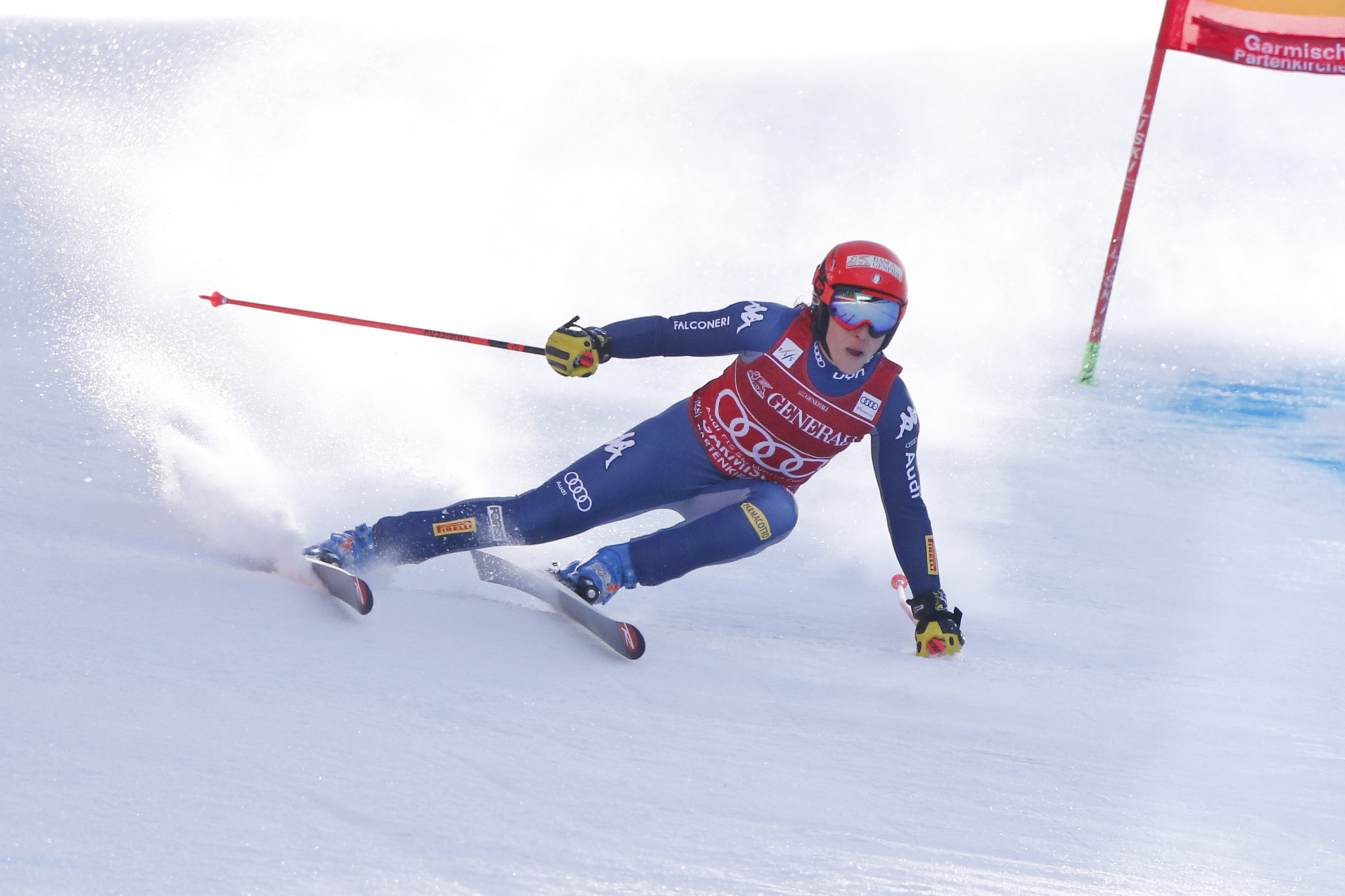 Brignone set to boost FIS Alpine Ski World Cup hopes in Slovenia as Shiffrin absence continues