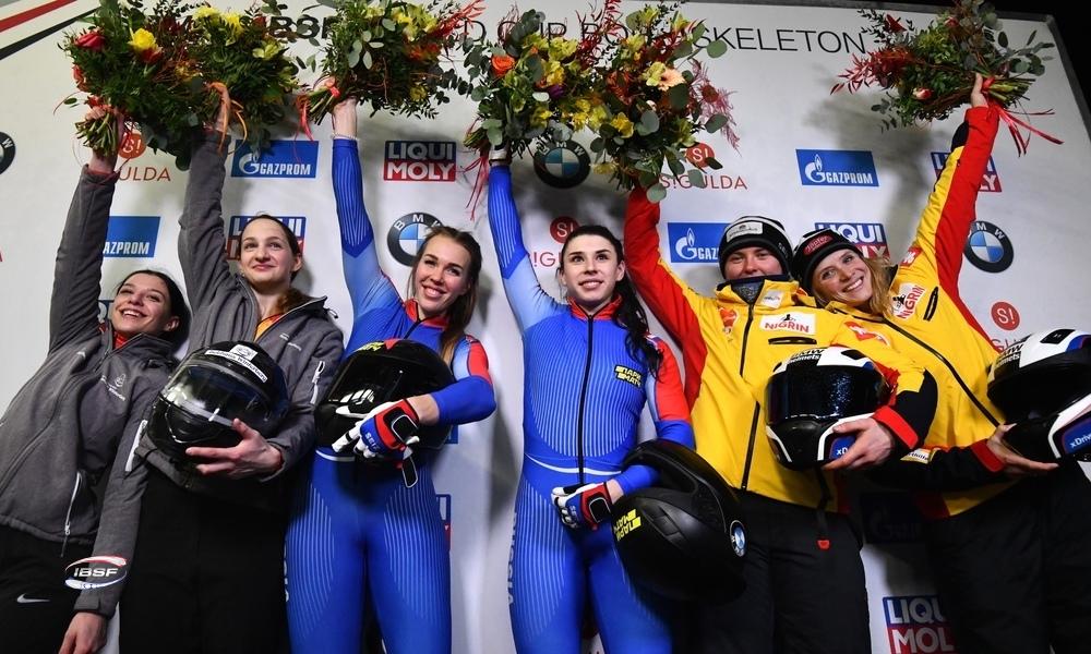 Sergeeva and Mamedova earn maiden European and IBSF World Cup title