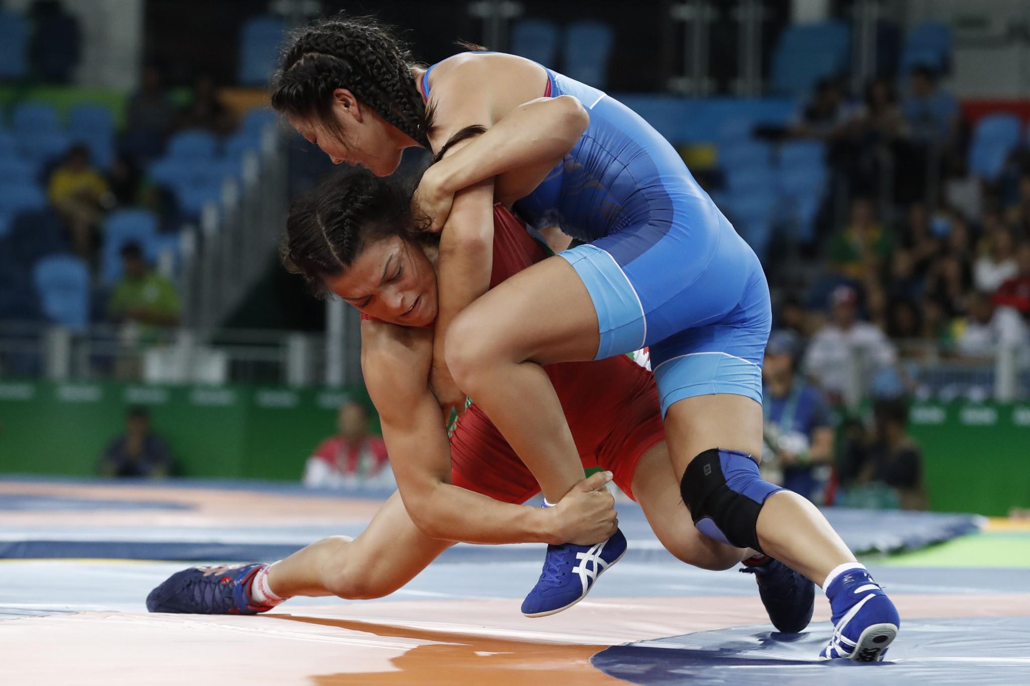 Hristova beats last year's gold medallist Manolova at European Wrestling Championships