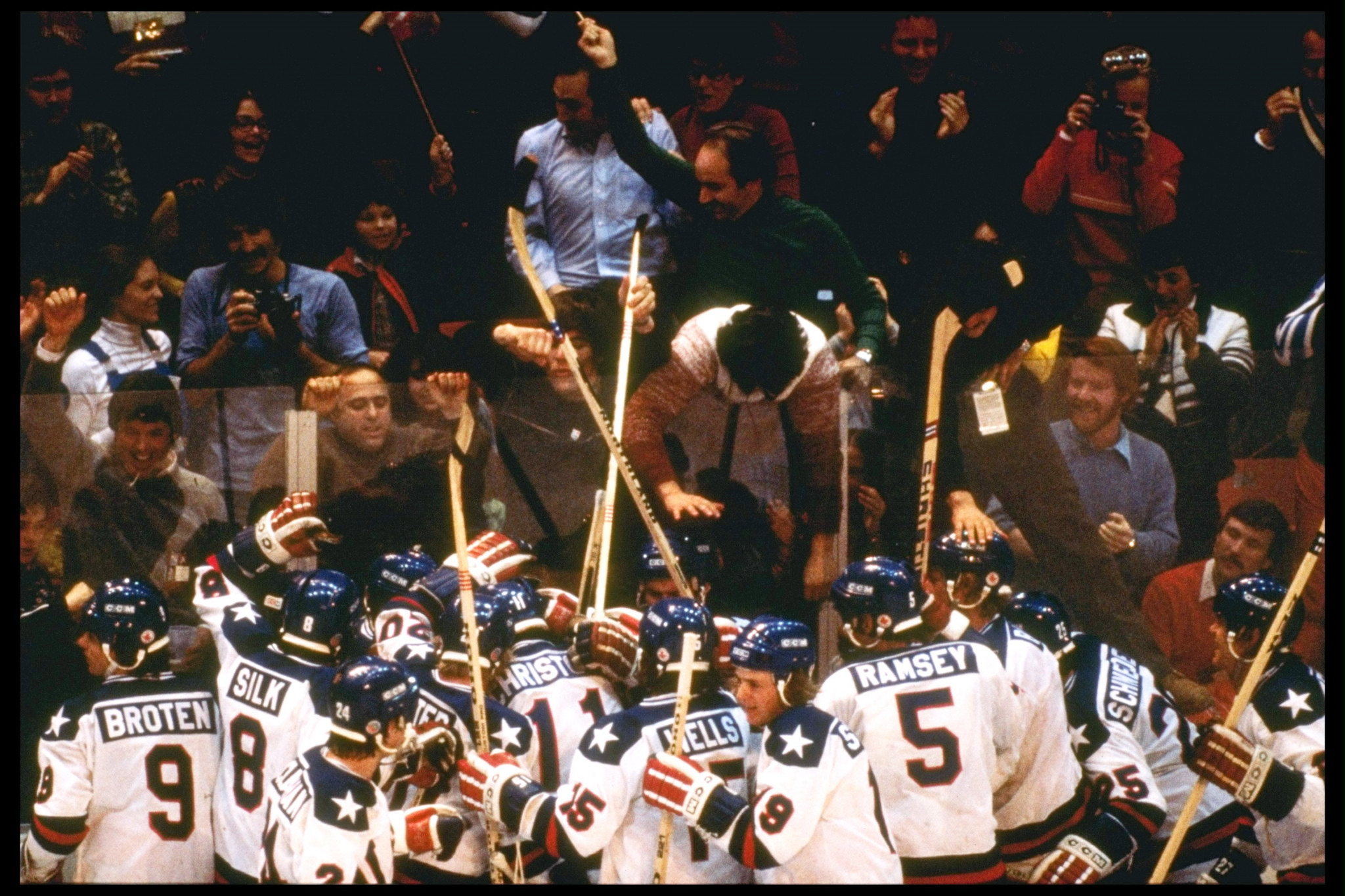 Forty years after their 'Miracle on Ice' win over the Soviet Union at the Lake Placid 1980 Olympics, members of the US ice hockey team will reunite in Las Vegas ©Getty Images