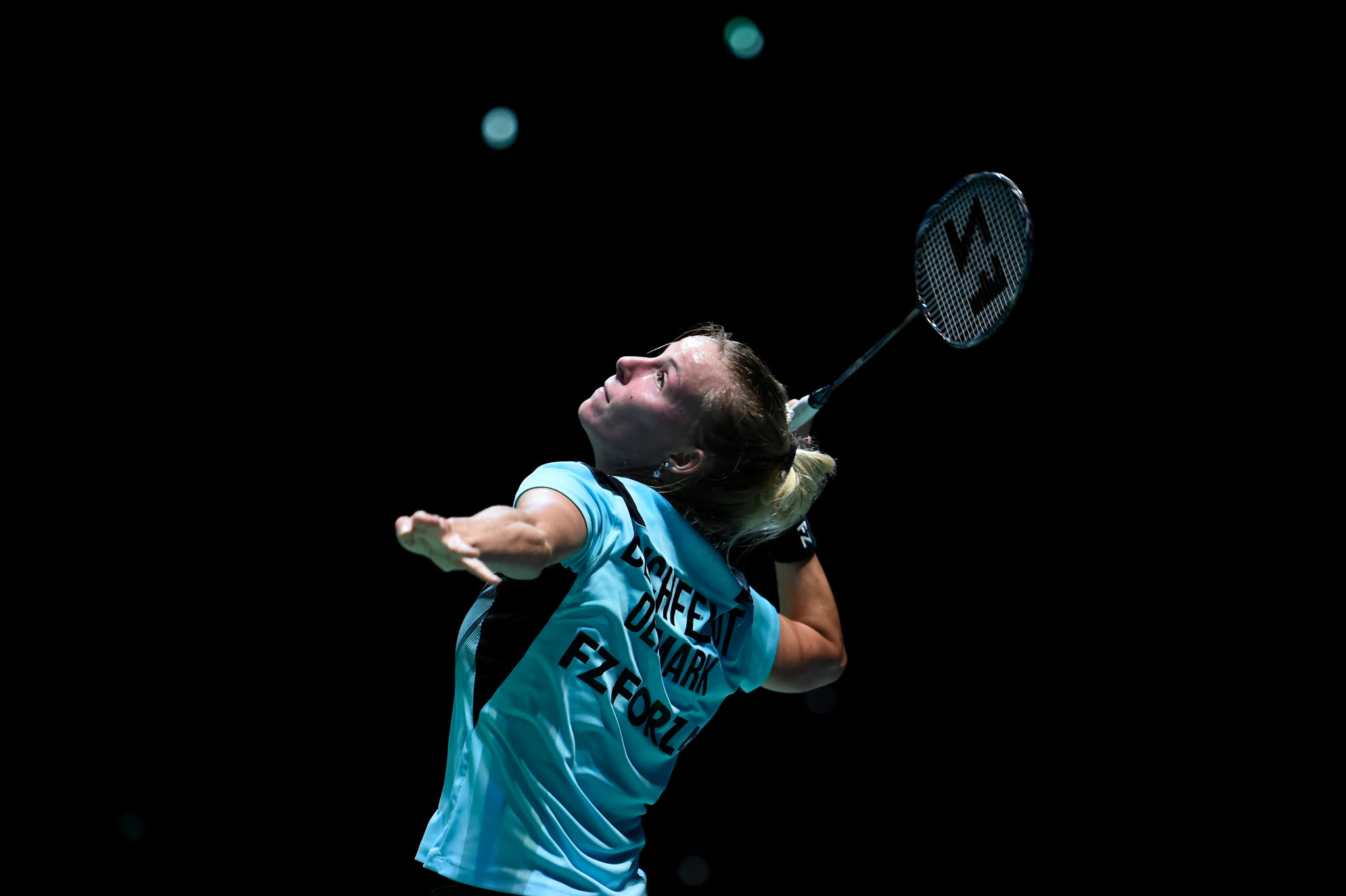 Mia Blichfeldt overcame loss in game one to put Danes on track for semifinals © Getty Images