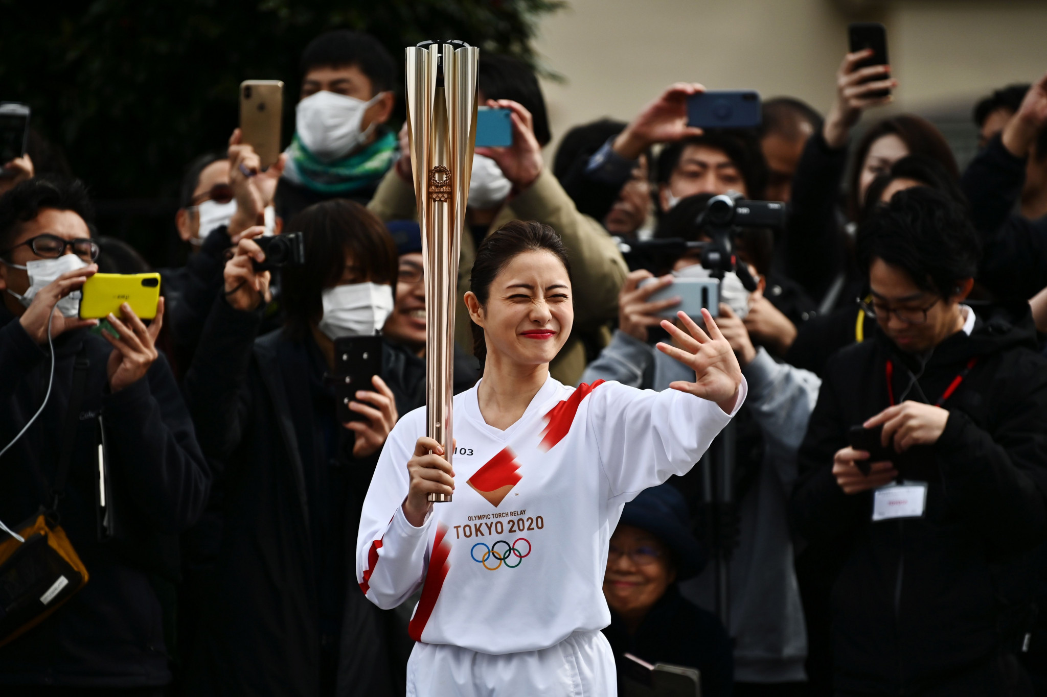 Japanese film star among Torchbearers at Tokyo 2020 Torch Relay rehearsal