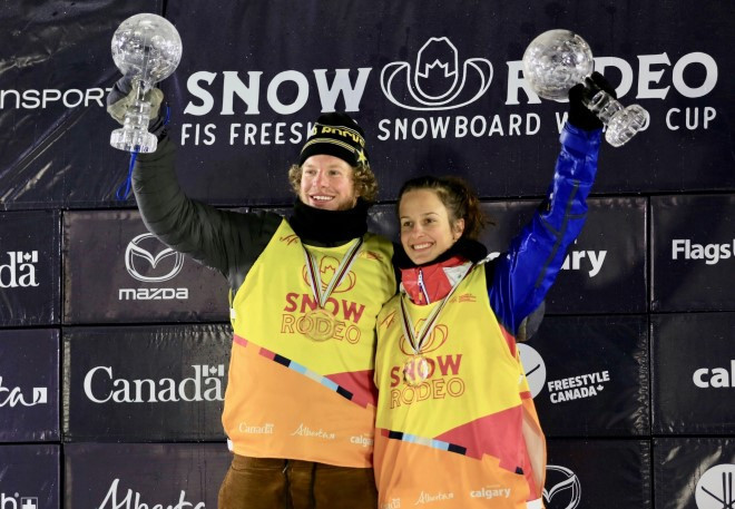 Blunck and Demidova crowned overall winners after final halfpipe World Cup