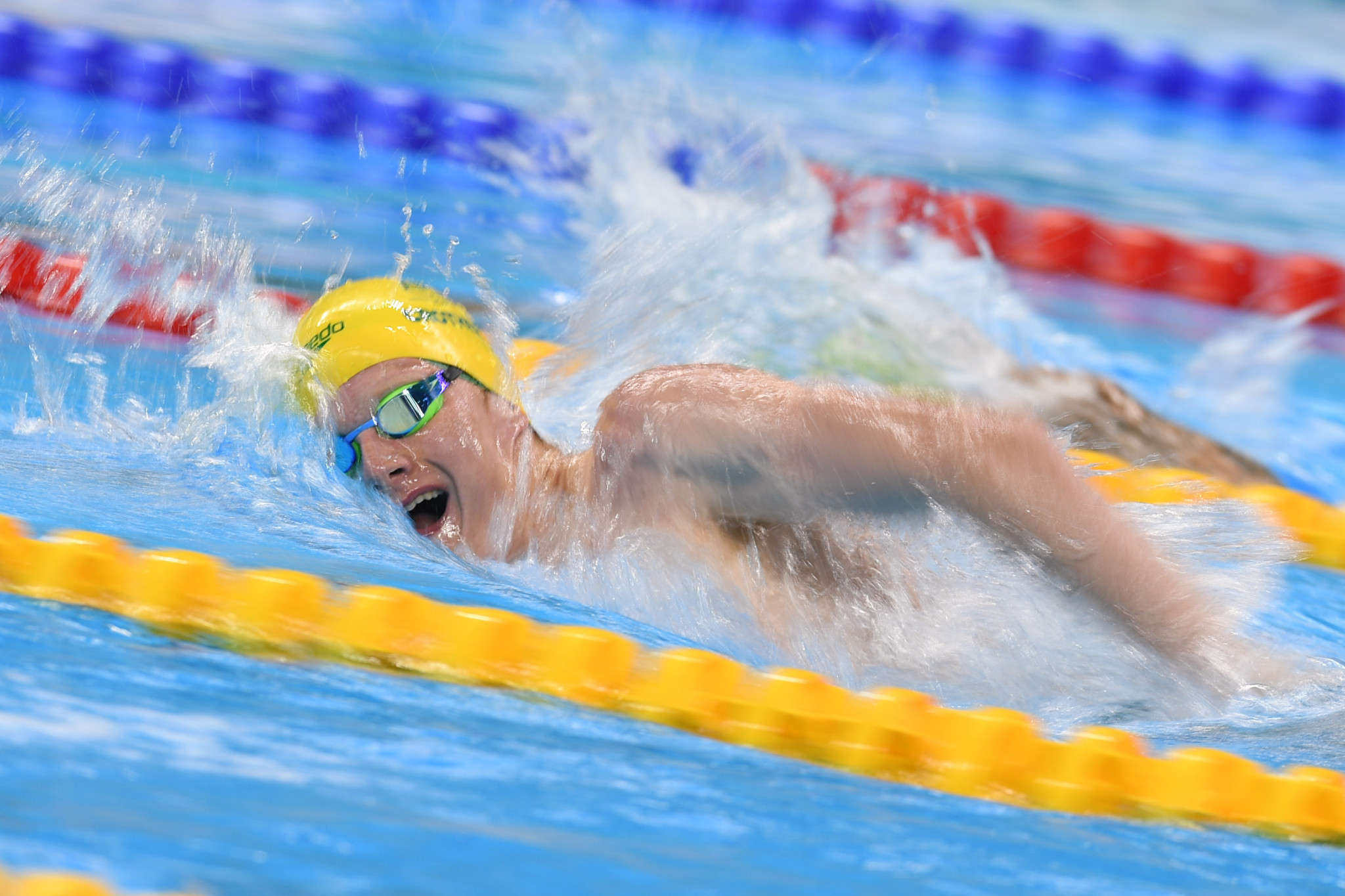 Rowan Crothers posted a Tokyo 2020 qualifying time in the men's 50m freestyle ©Getty Images