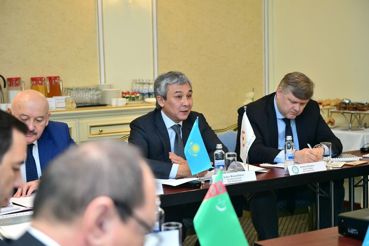The meeting of the Central Asian NOCs was held in Kazakhstan ©HOK