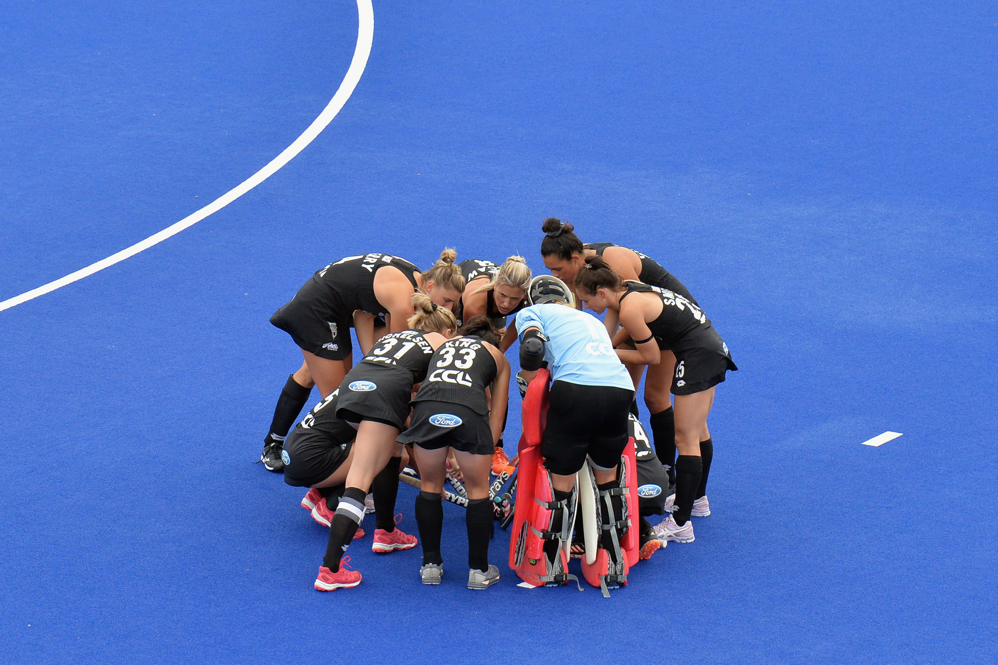 New Zealand's women's team defeated the United States 3-1 ©Getty Images