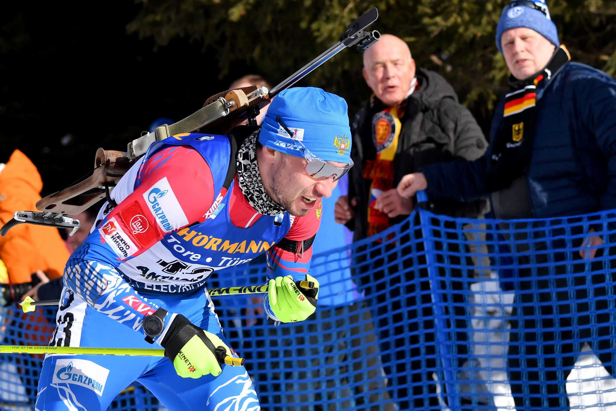 Loginov springs surprise with sprint triumph at Biathlon World Championships