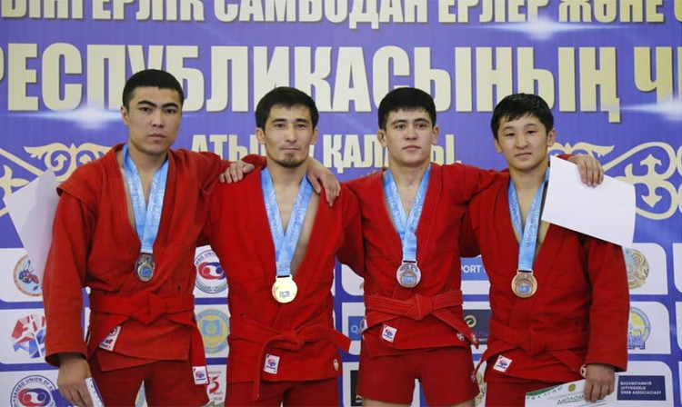 Over 300 compete at Kazakhstan's national Sambo Championships