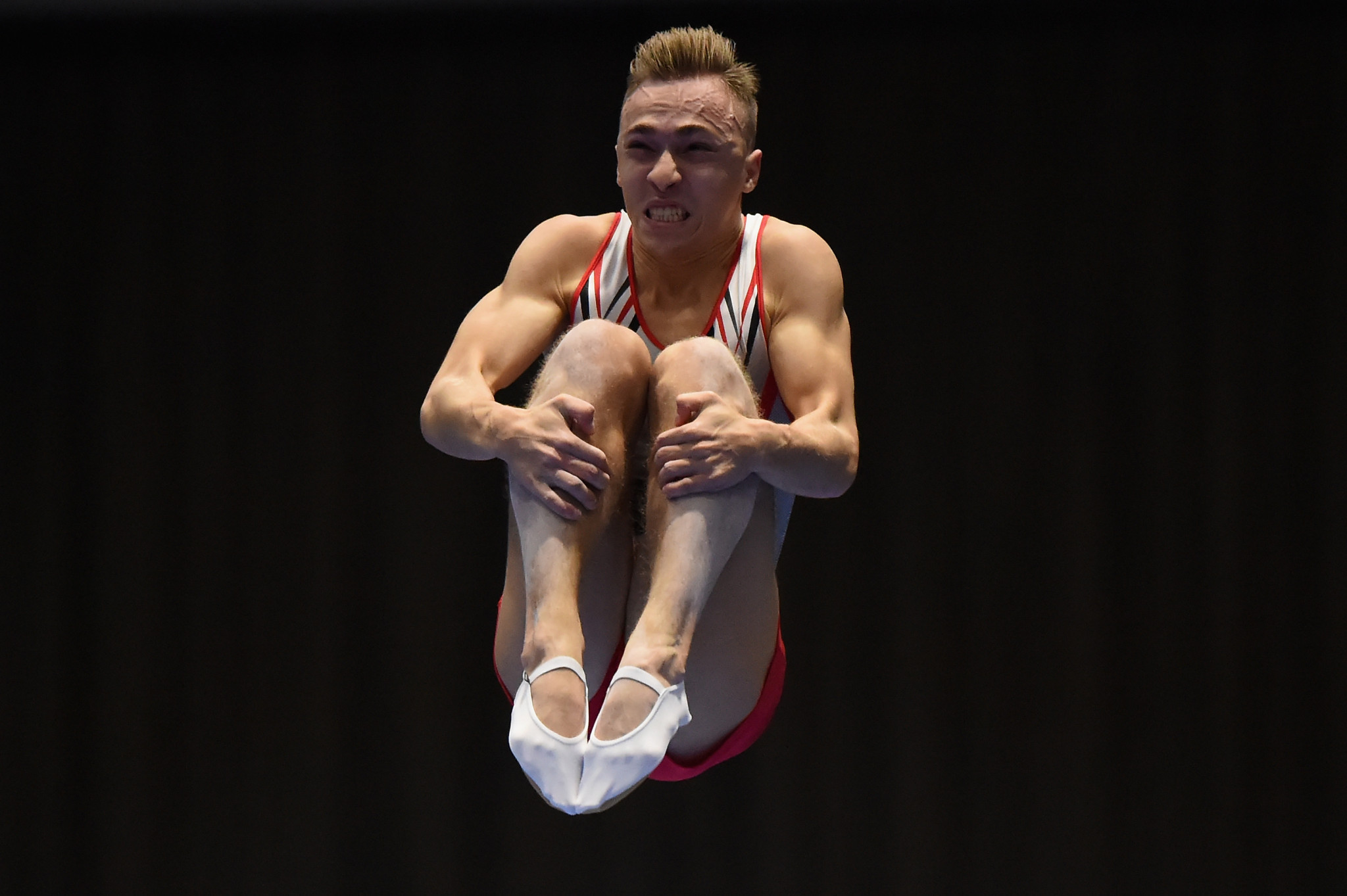 Hancharou heads men's qualification at Trampoline World Cup in Baku