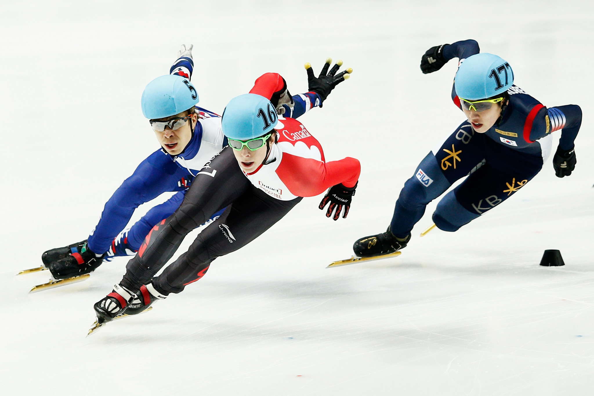Park and Schulting secure overall 1,500m titles at ISU Short Track World Cup