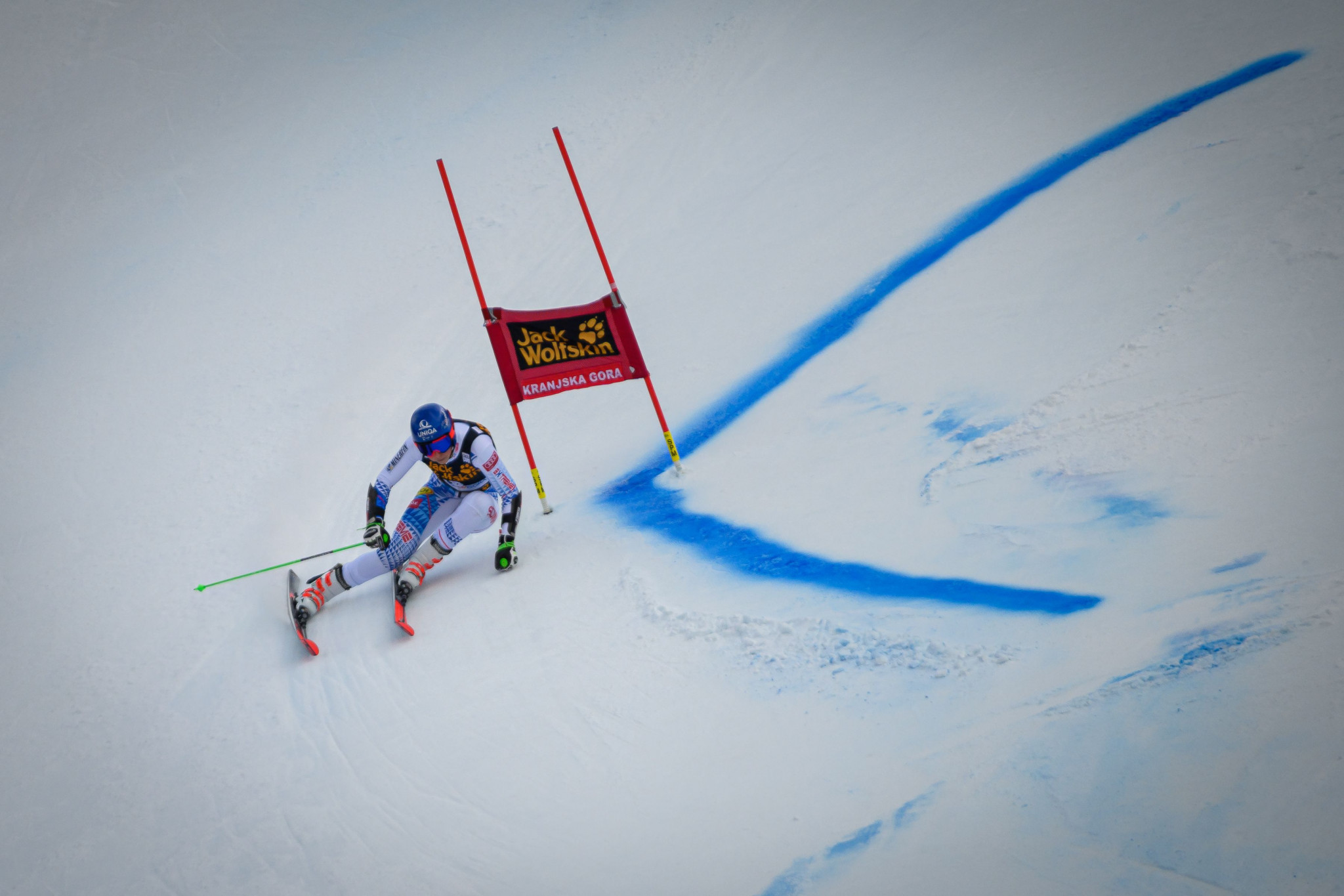 Slovakia's Petra Vlhova finished as the runner-up ©Getty Images