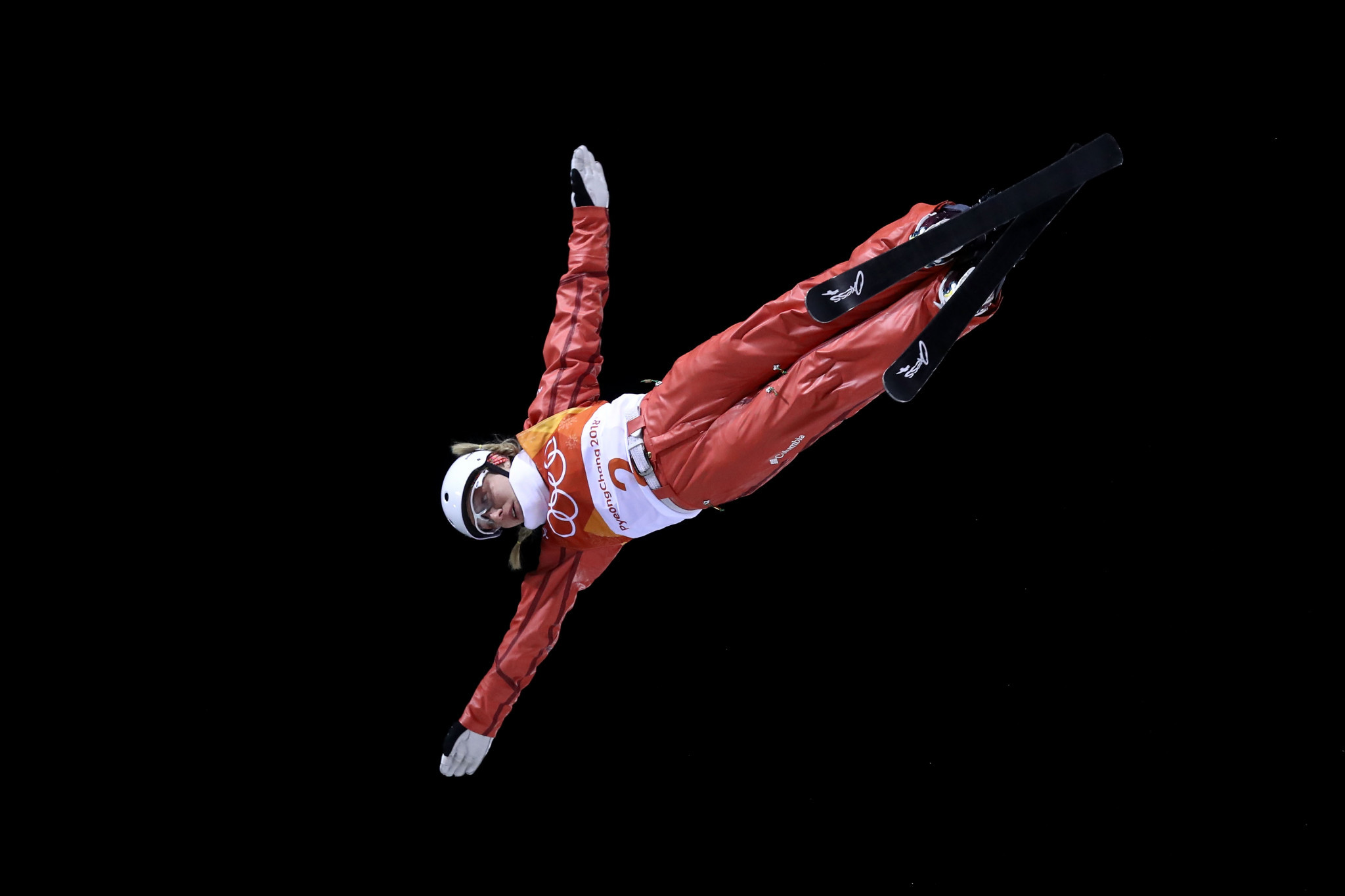 Reigning Olympic aerials champion Hanna Huskova won the women's event in Moscow ©Getty Images