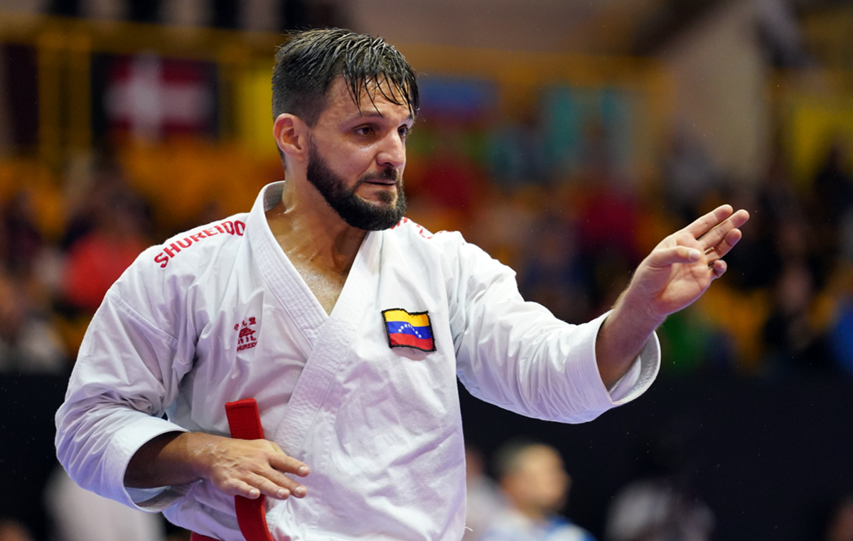 Diaz and Quintero to meet in men's kata final at Karate 1-Premier League in Dubai