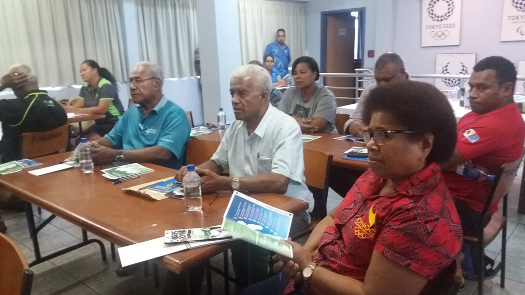 Drug Free Sports Fiji holds workshop to outline officials' Tokyo 2020 responsibilities