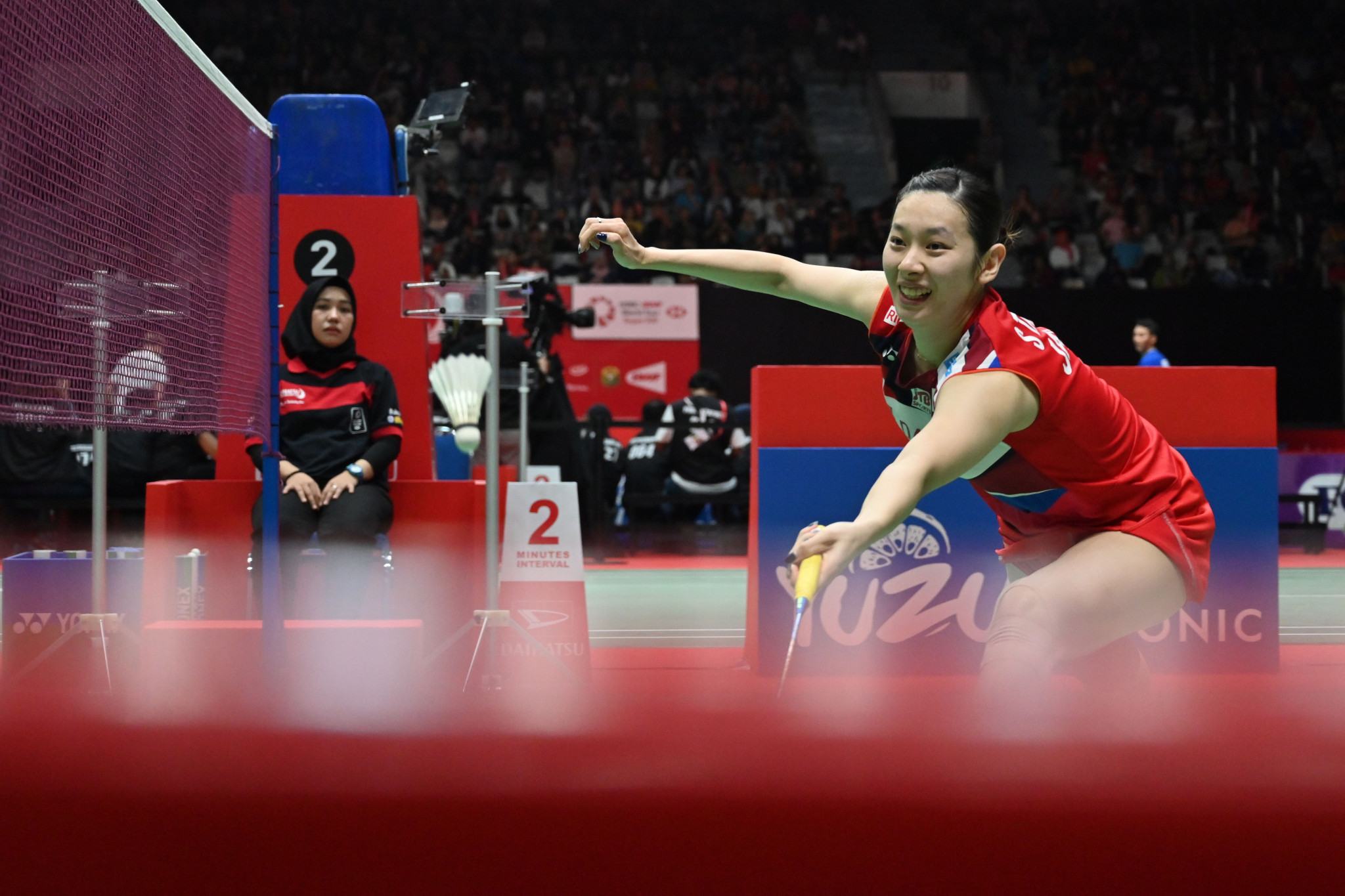 Akane Yamaguchi helped Japan retain their women's title in Manila ©Getty Images