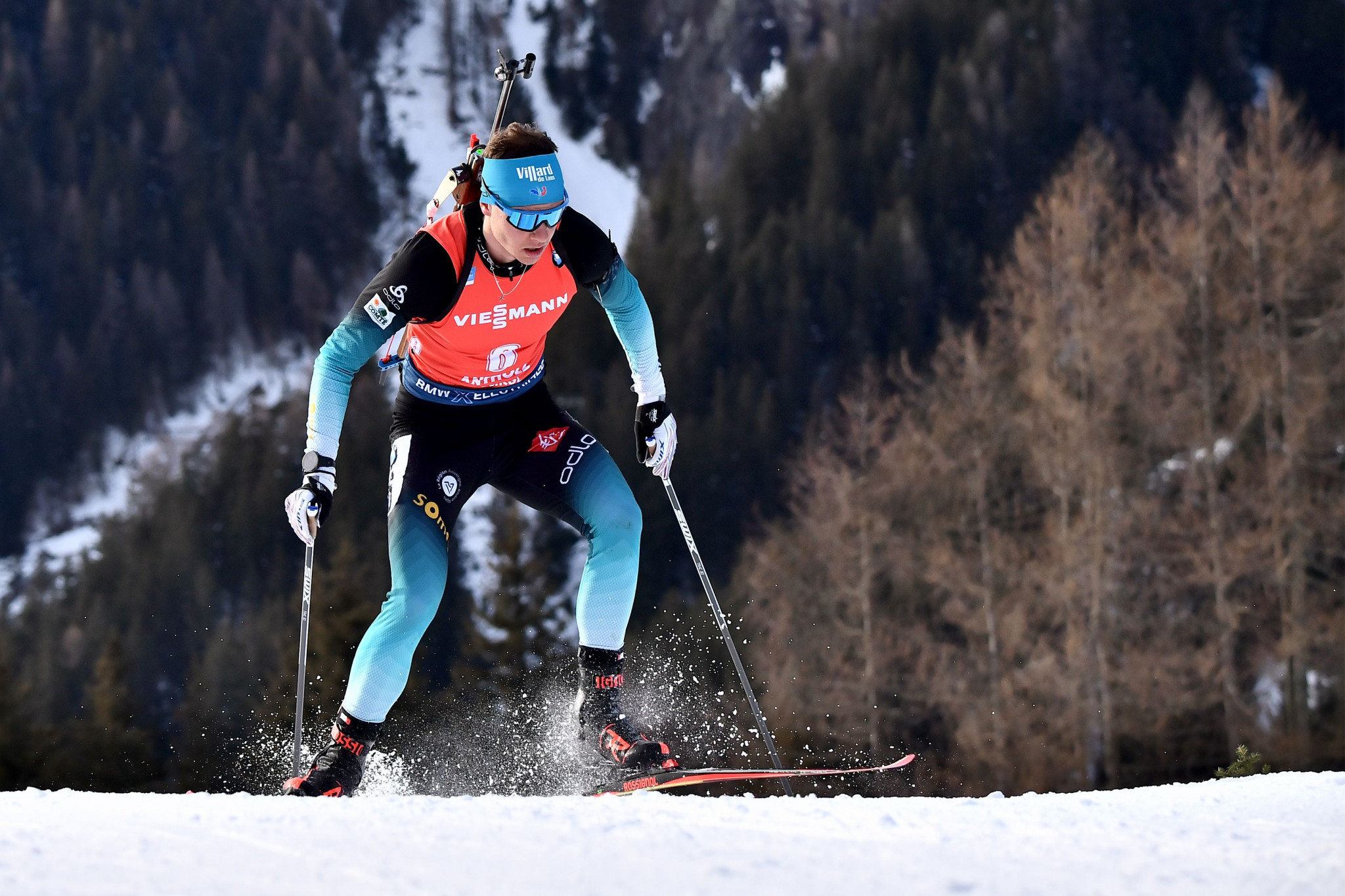 Jacquelin wins men's pursuit to clinch first major title at Biathlon World Championships