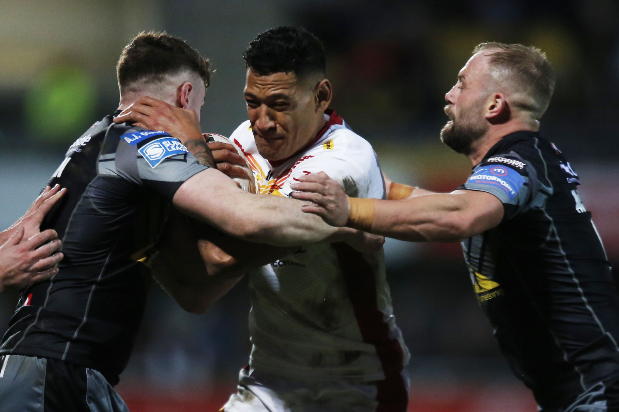 Controversy over rainbow flag as Folau returns to action