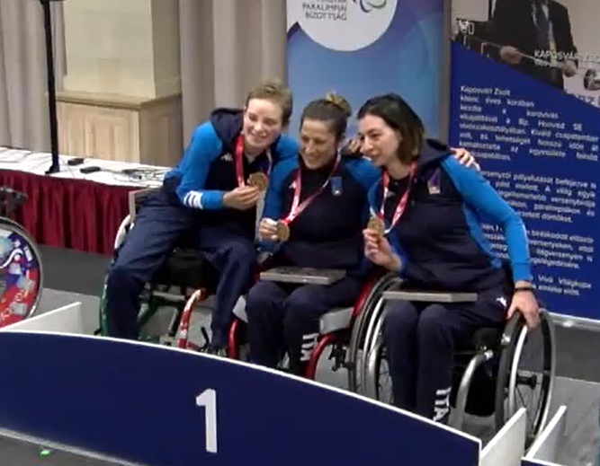 Italy and Russia win team titles at IWAS Wheelchair Fencing World Cup in Eger