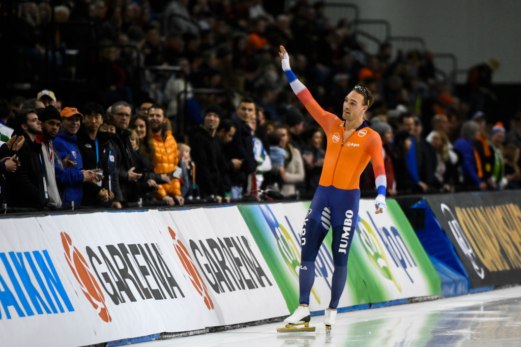 Nuis bounces back with gold at ISU World Single Distances Speed Skating Championships