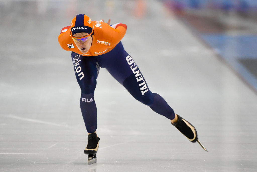 Ireen Wüst added to her impressive medal collection ©ISU