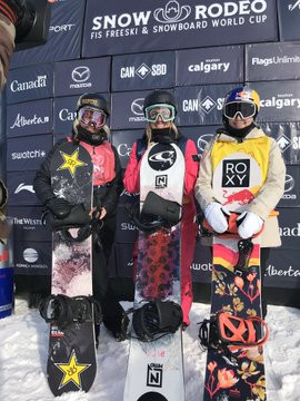 Blouin claims first FIS Snowboard Slopestyle World Cup win on home snow in Calgary