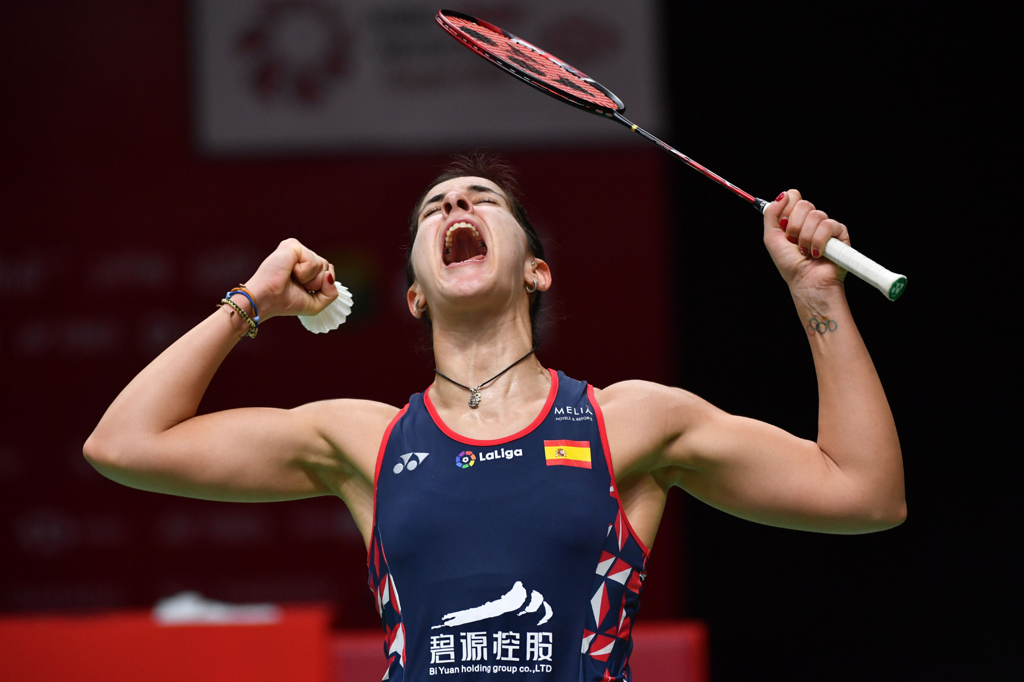 Carolina Marin will be the big attraction at the BWF Barcelona Spain Masters ©Getty Images