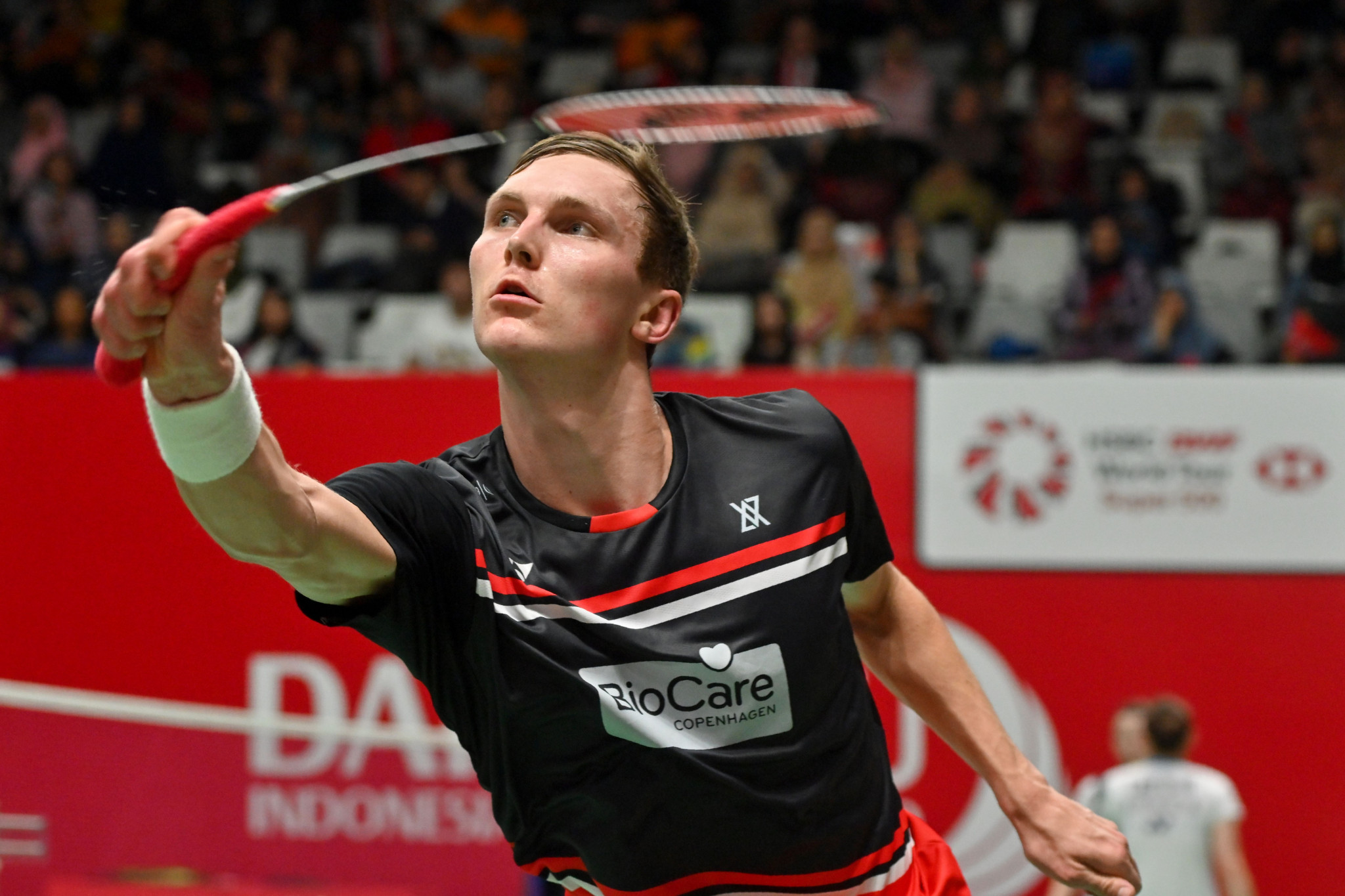 Denmark's Viktor Axelsen will defend the men's title as top seed ©Getty Images