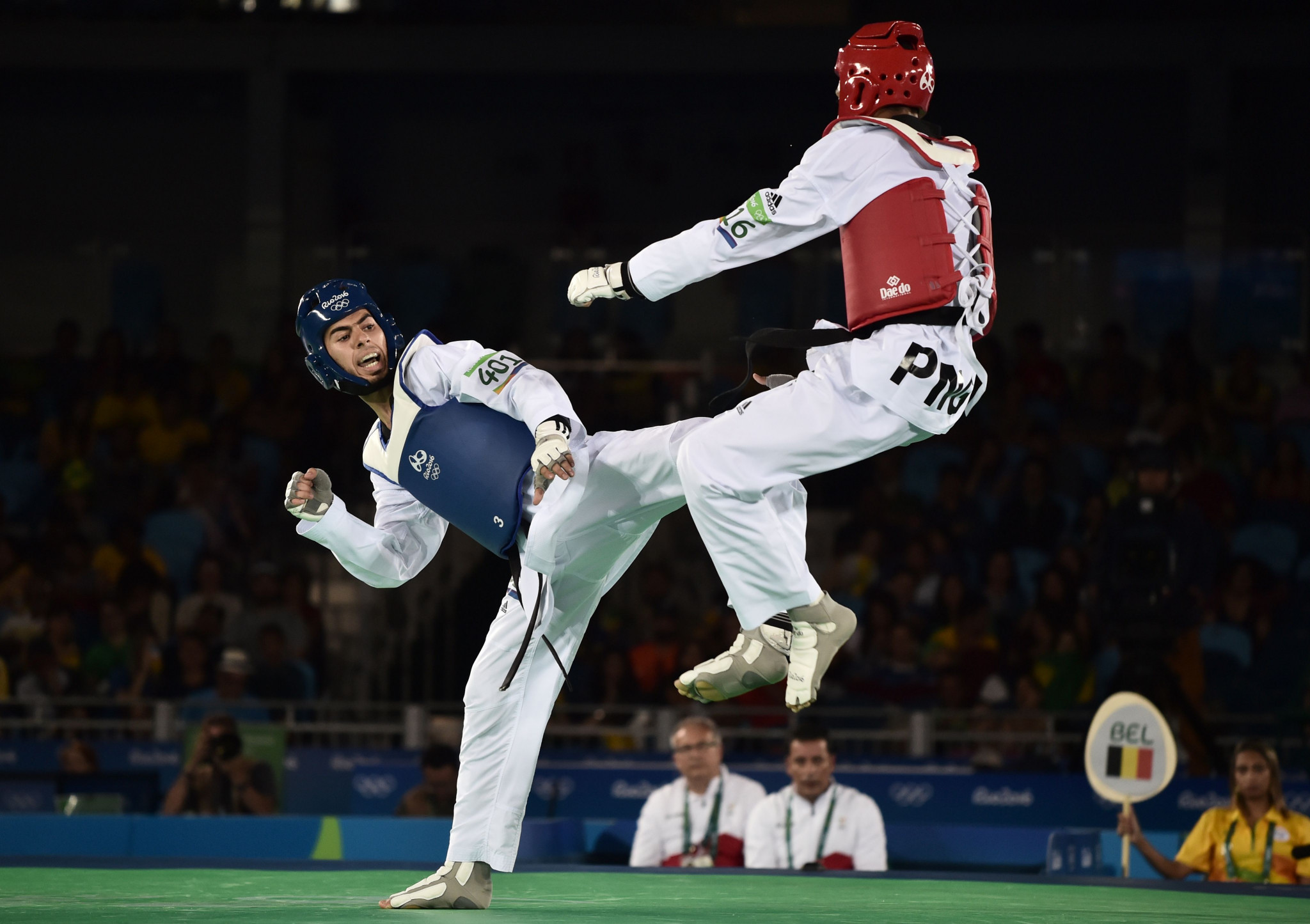 Three taekwondo fighters from Papua New Guinea are in training for the Tokyo 2020 Oceania qualifier ©Getty Images