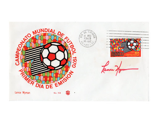 Lance Wyman also created the design campaign for the 1970 FIFA World Cup in Mexico ©Lance Wyman