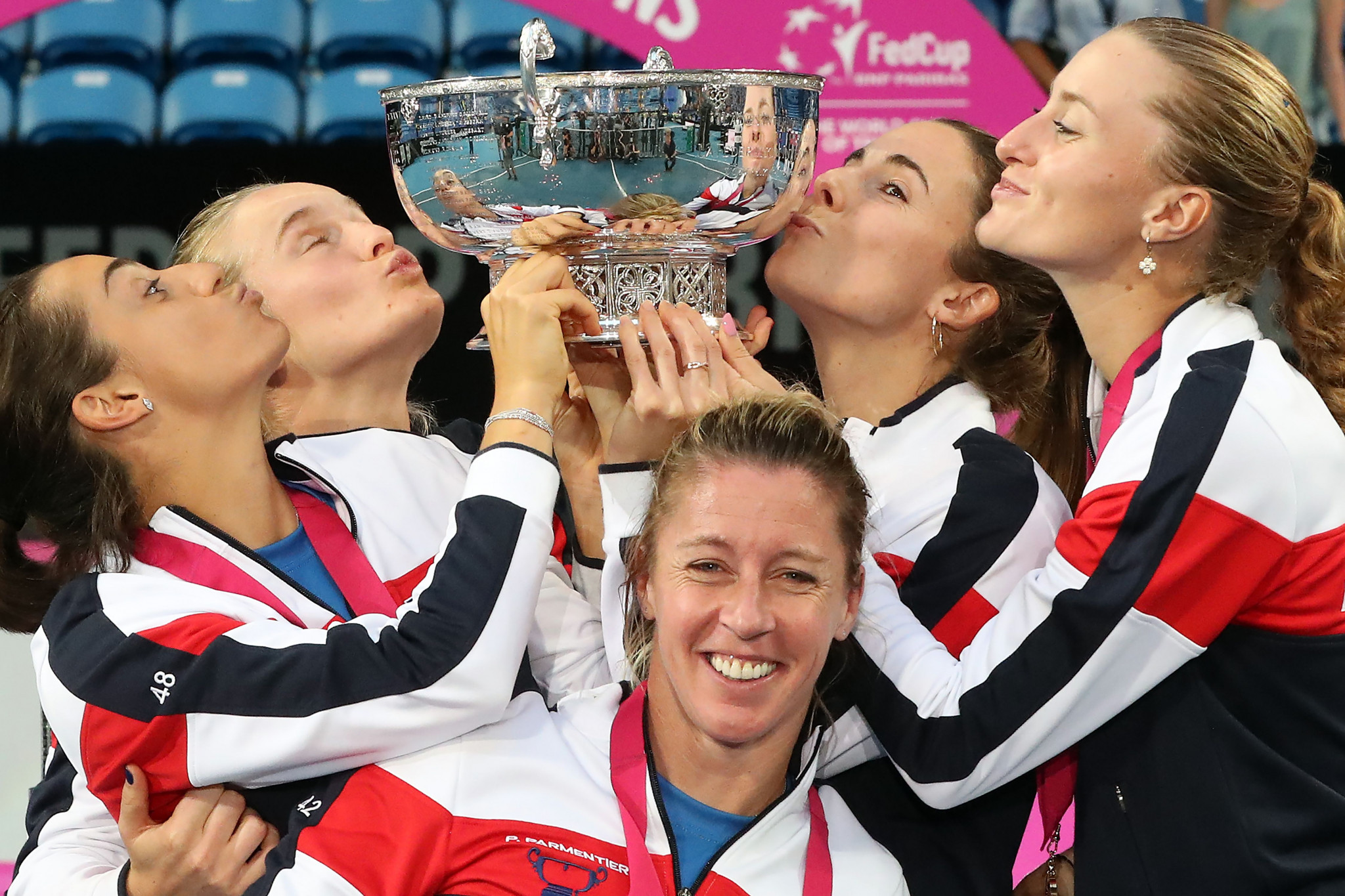 France to begin Fed Cup title defence against hosts Hungary as organisers announce schedule