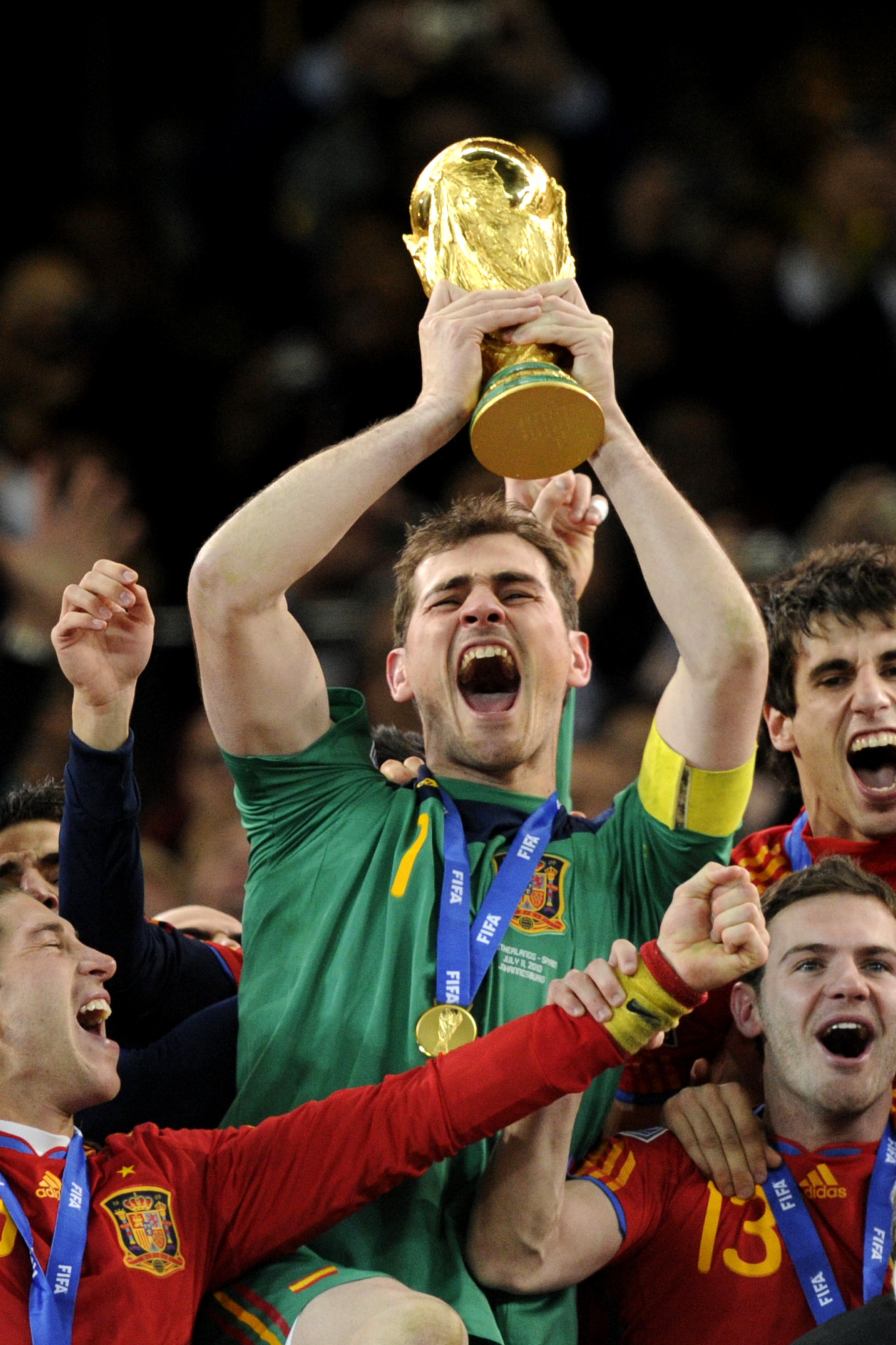 Iker Casillas won the World Cup with Spain in 2010 ©Getty Images