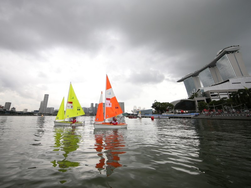 Hosts Singapore land double sailing gold on penultimate day of action at ASEAN Para Games