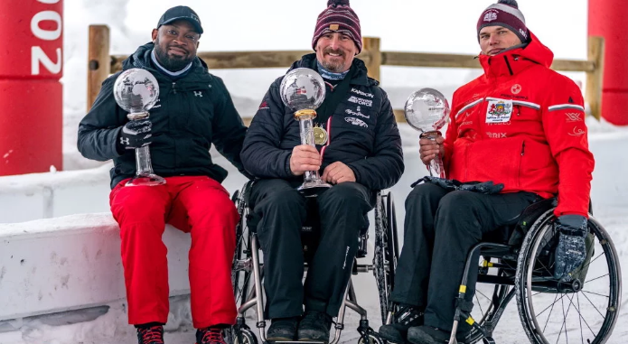 Bissonnette secures defence of overall IBSF Para Sport World Cup title