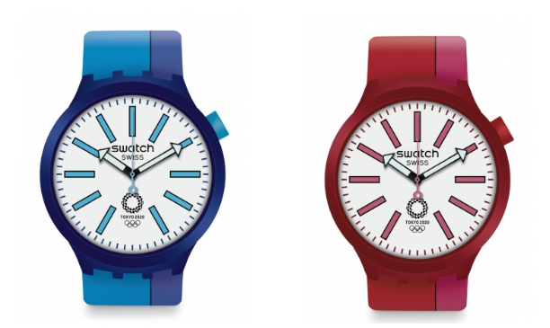 Swatch launch limited edition watches for Tokyo 2020