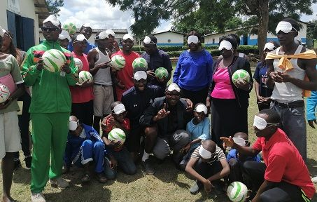Botswana and Zambia become latest nations to hold blind football coaching clinics