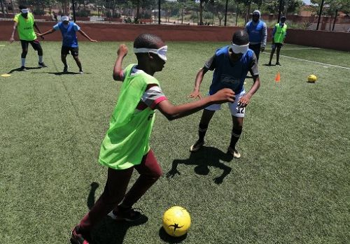 IBSA Football Committee has targeted development of the sport in Africa ©IBSA