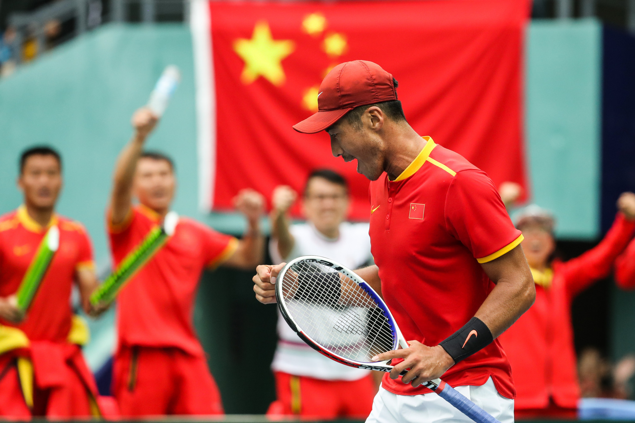 Romania advance to Davis Cup World Group I after China withdraw over coronavirus