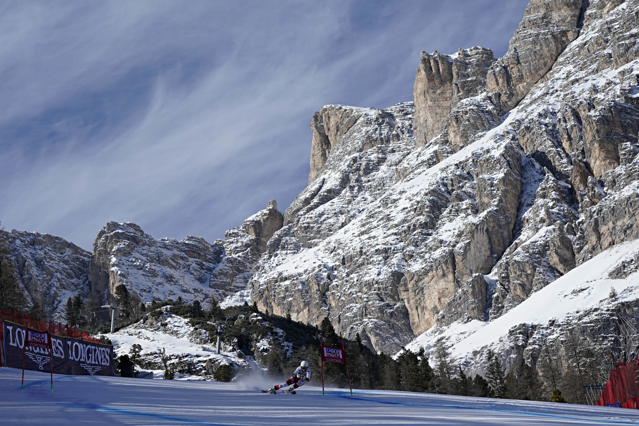 The first phase of the project will connect Cortina d'Ampezzo to the Cinque Torri area through Socrepes and Pocol ©Getty Images