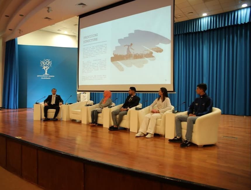 The Japan International Cooperation Agency conference featured Generations for Peace as its host partner ©Facebook