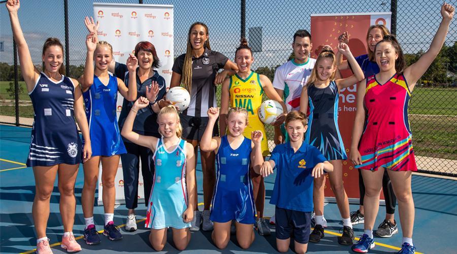Netball Australia announce partnership with Origin Energy