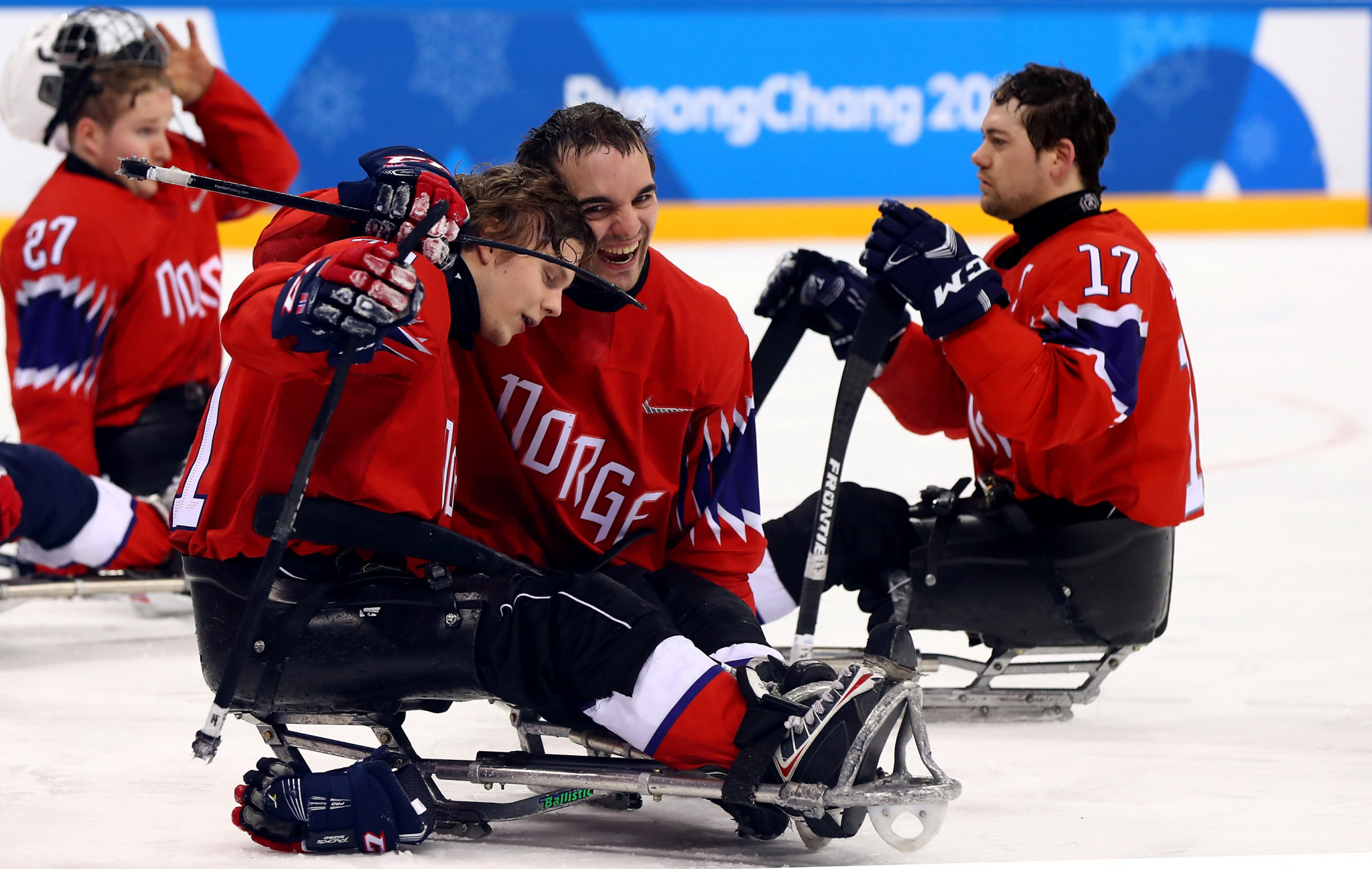 Norway, the bronze medallists in 2016, are among the eight teams set to compete at the 2020 World Para Ice Hockey European Championships ©Getty Images