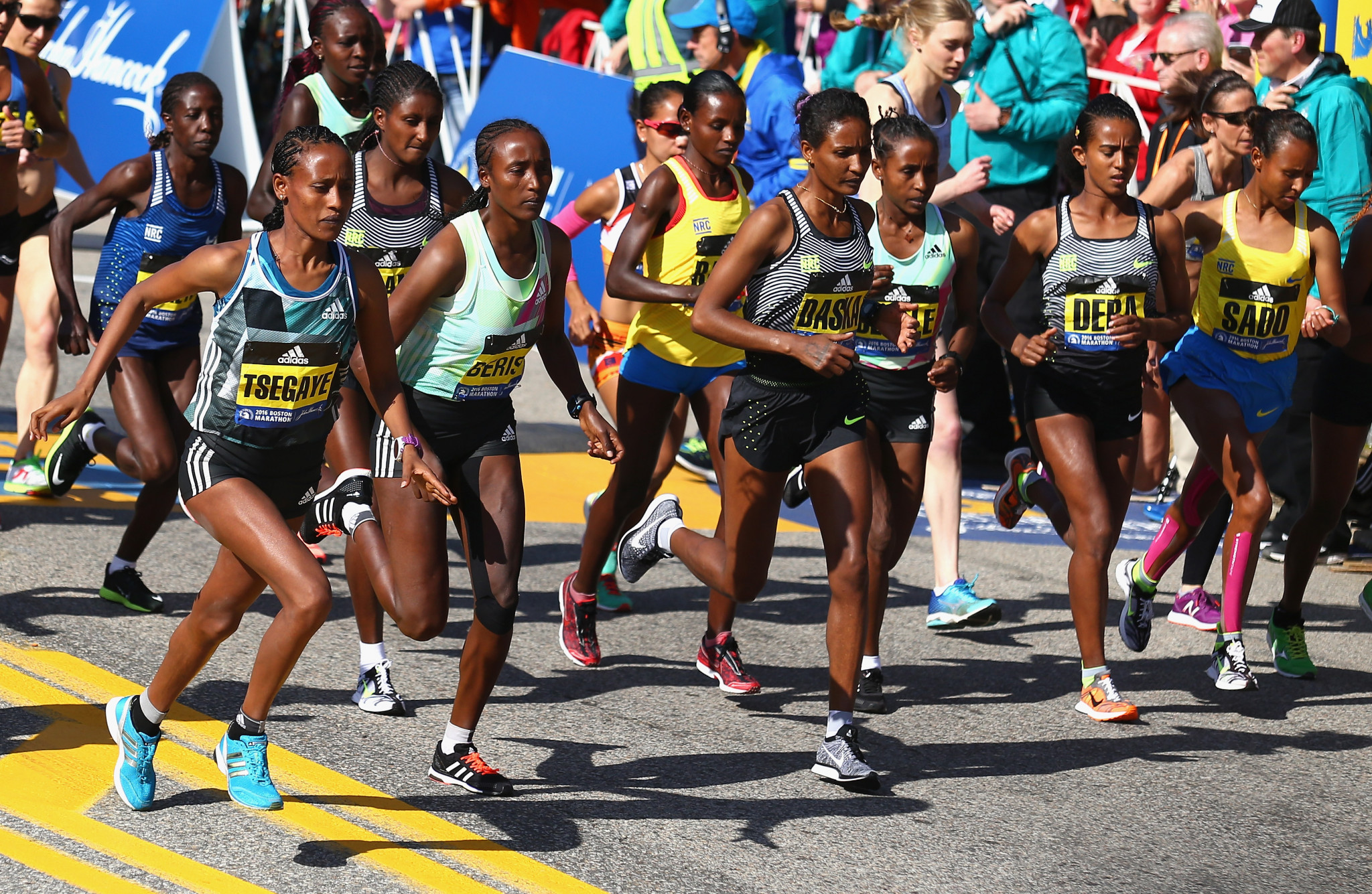 The Boston Marathon organisers have sent a message of support during the pandemic ©Getty Images