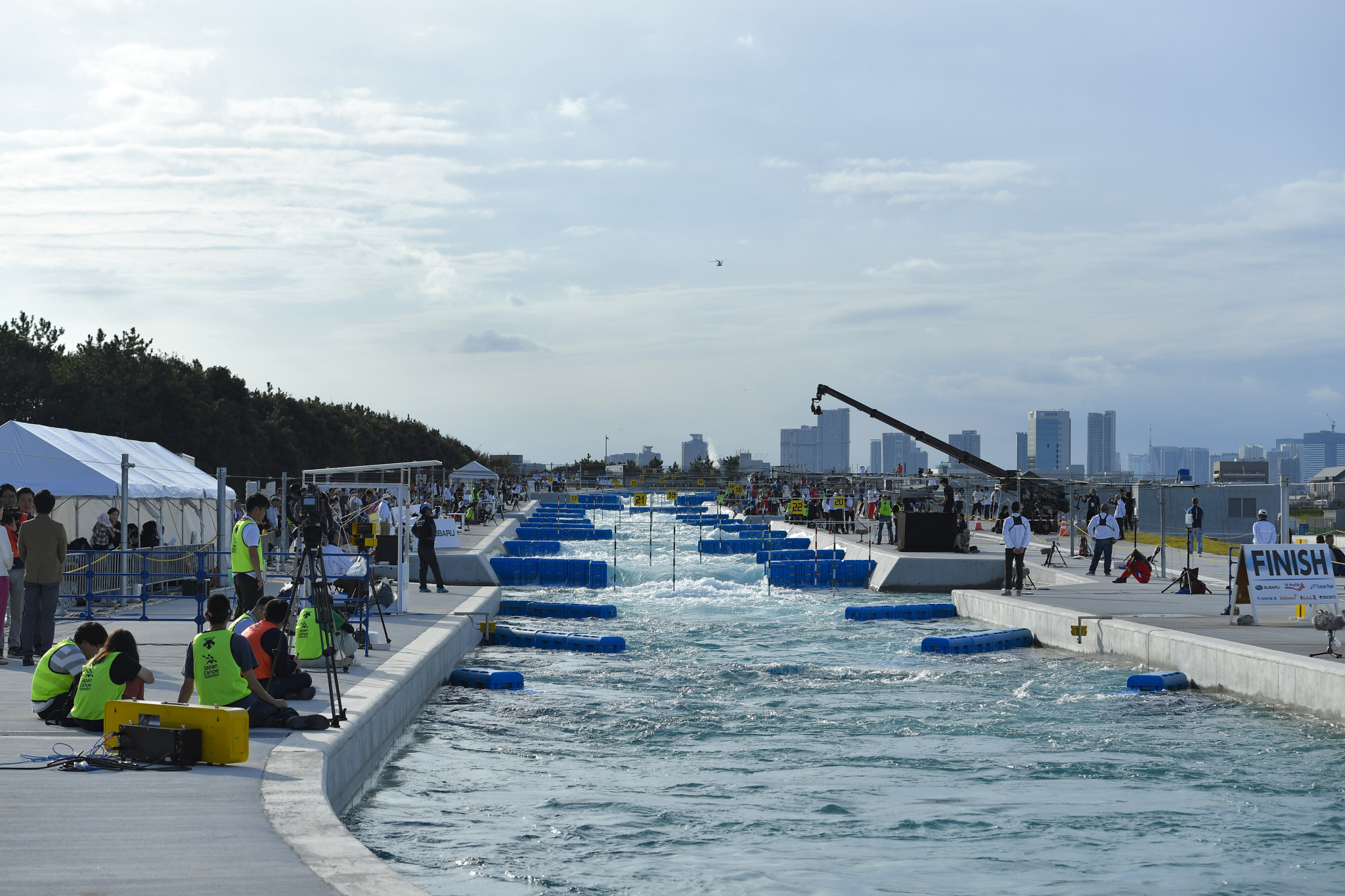 The Kasai Canoe Slalom Centre is due to host Tokyo 2020 action from July 26 to 31 ©Getty Images