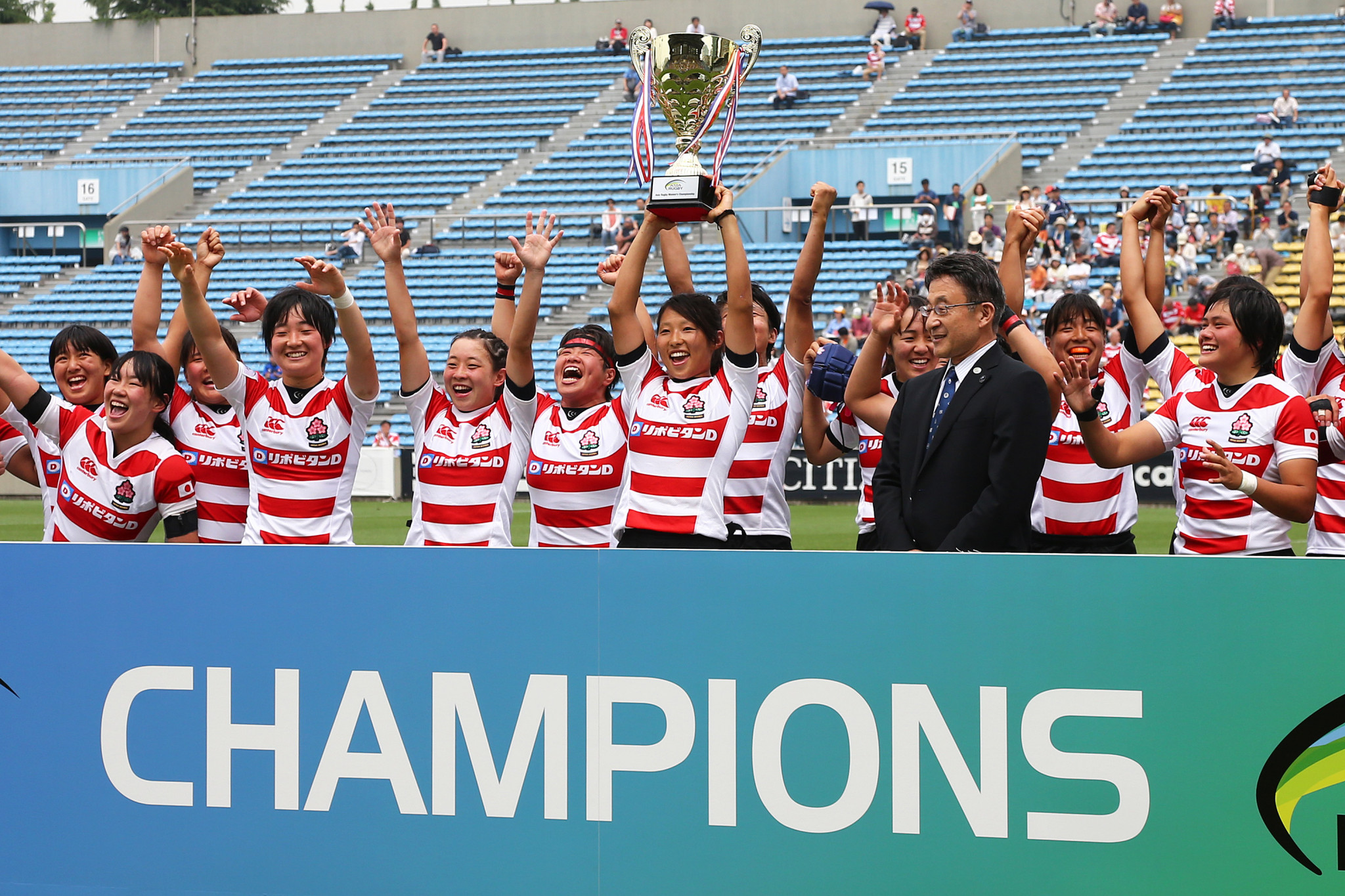 After winning in 2015, 2016 and 2017, Japan's team will look to take their fourth straight title later this spring ©Getty Images