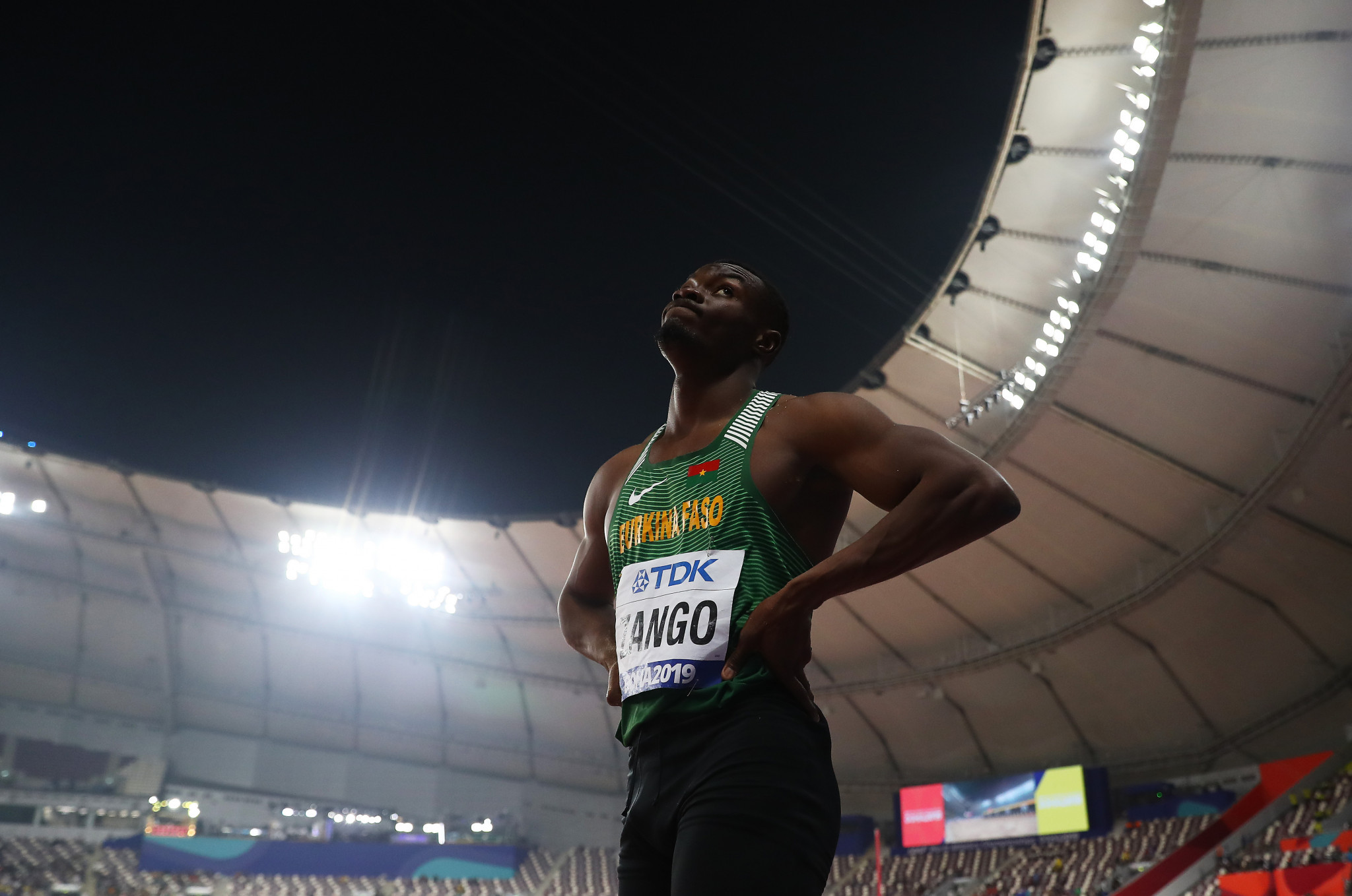 Long ago and far away...athletics at the Doha 2019 World Championships last September and October ©Getty Images