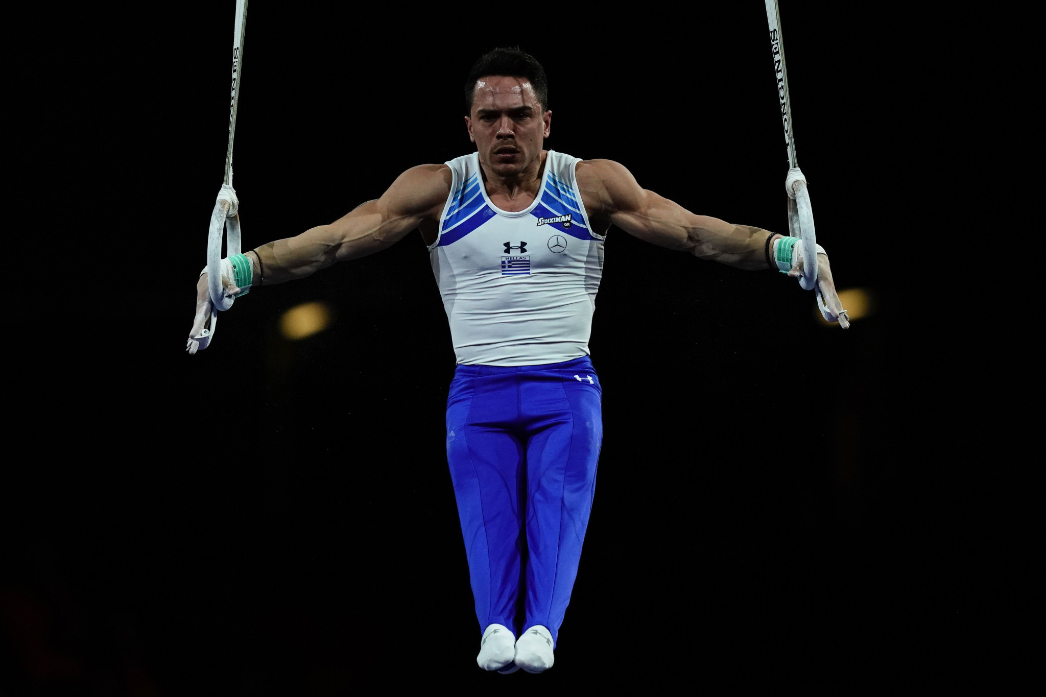 Olympic champion Petrounias tops men's rings qualification as FIG World Cup begins in Melbourne