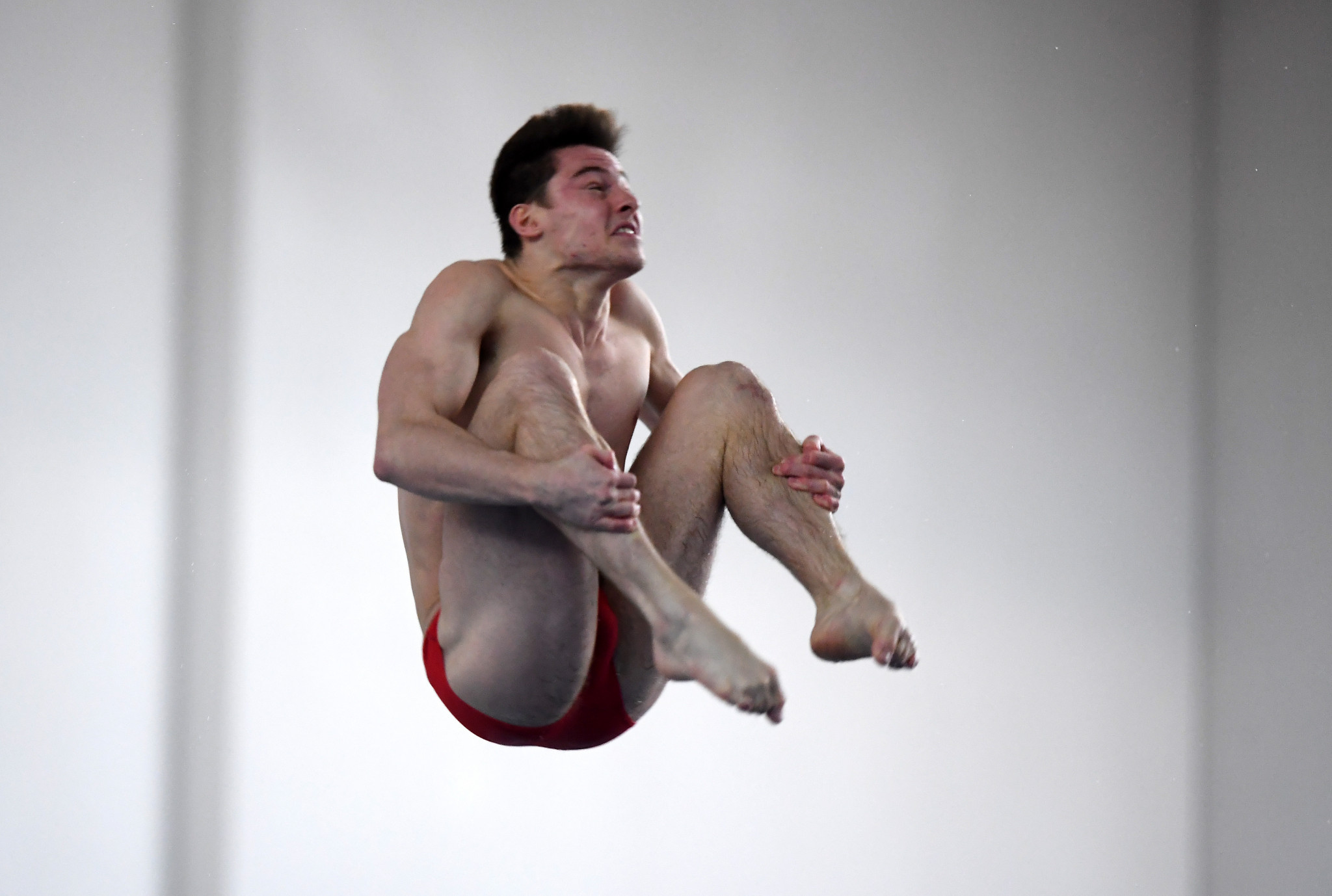 Britain's Harding shines on day one of FINA Diving Grand Prix in Rostock