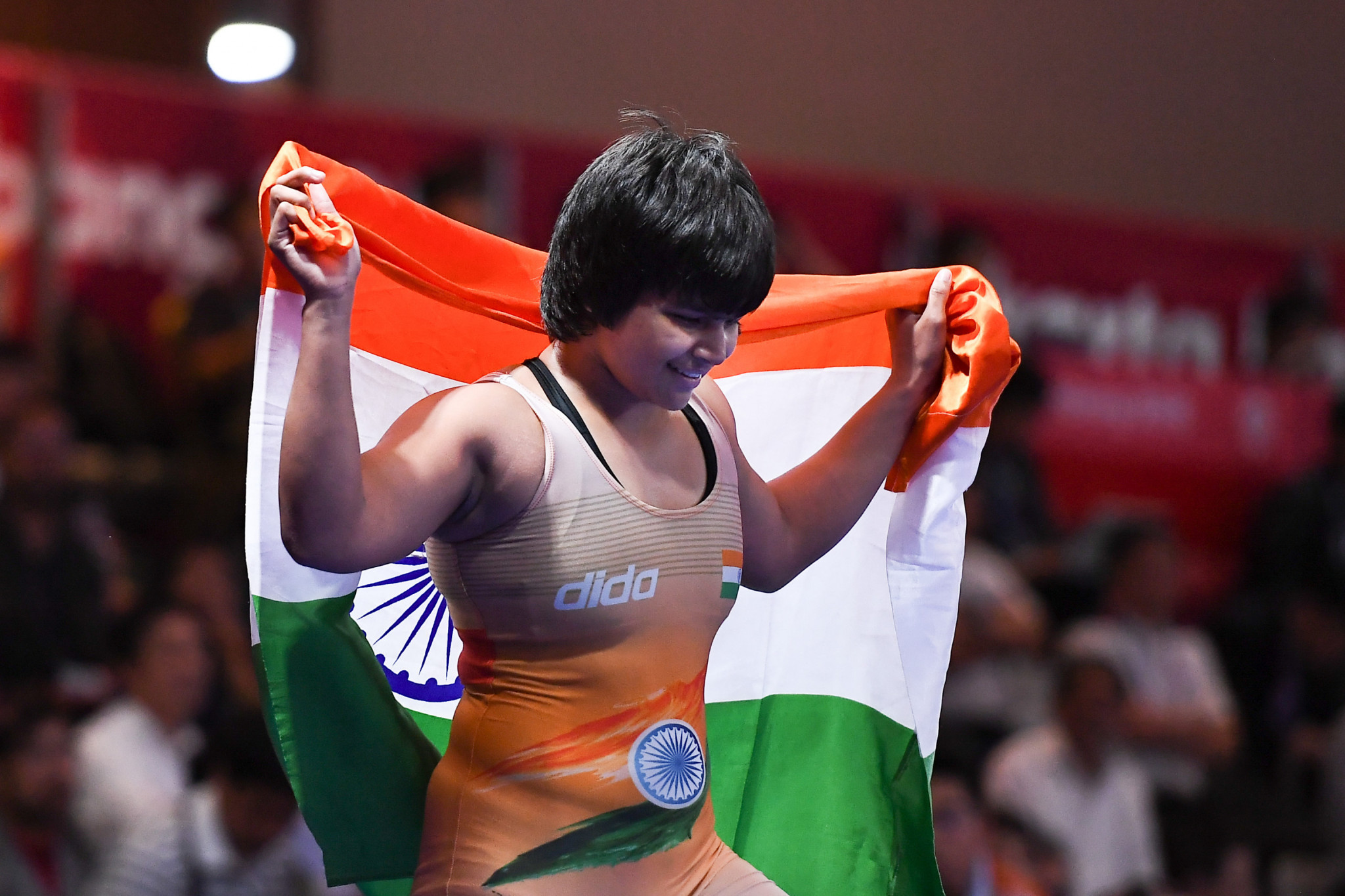 Hosts India celebrate three women's golds at Asian Wrestling Championships
